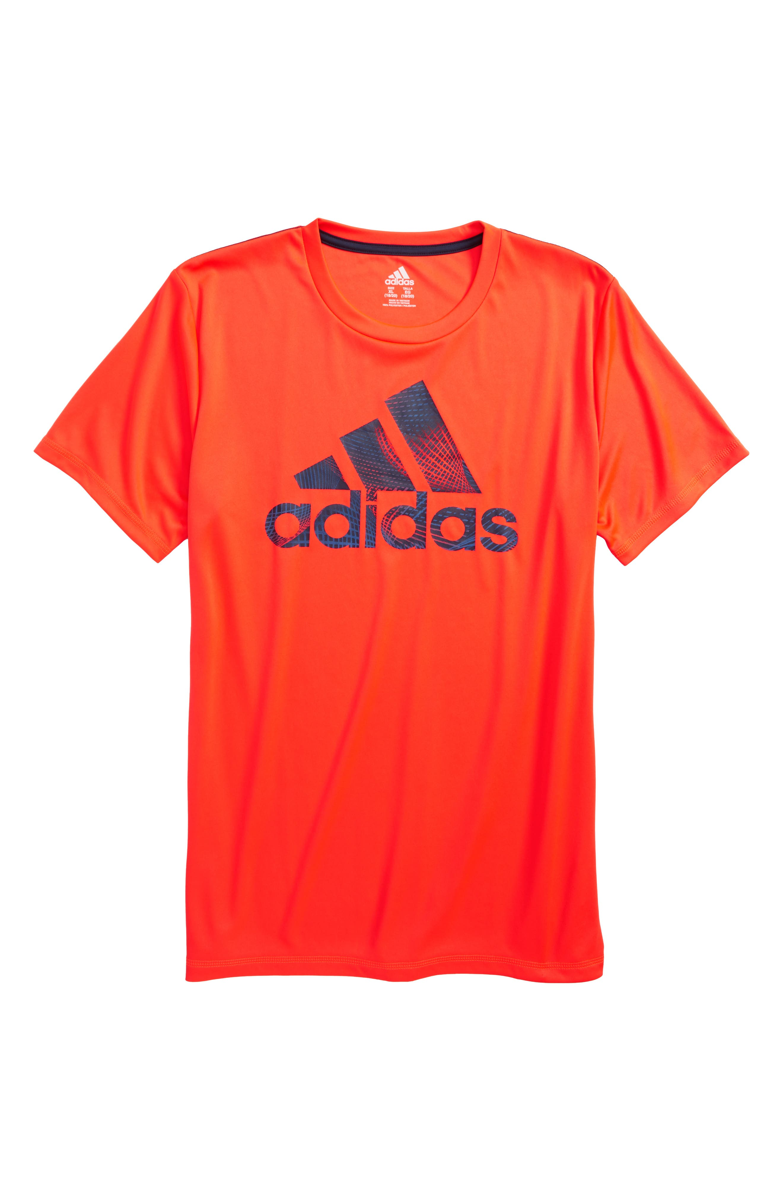 Logo T-Shirt,                             Main thumbnail 1, color,                             Red Orange