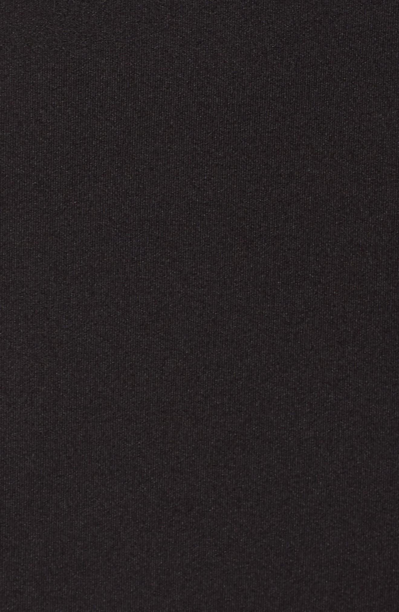 Knit Blazer,                             Alternate thumbnail 6, color,                             Black