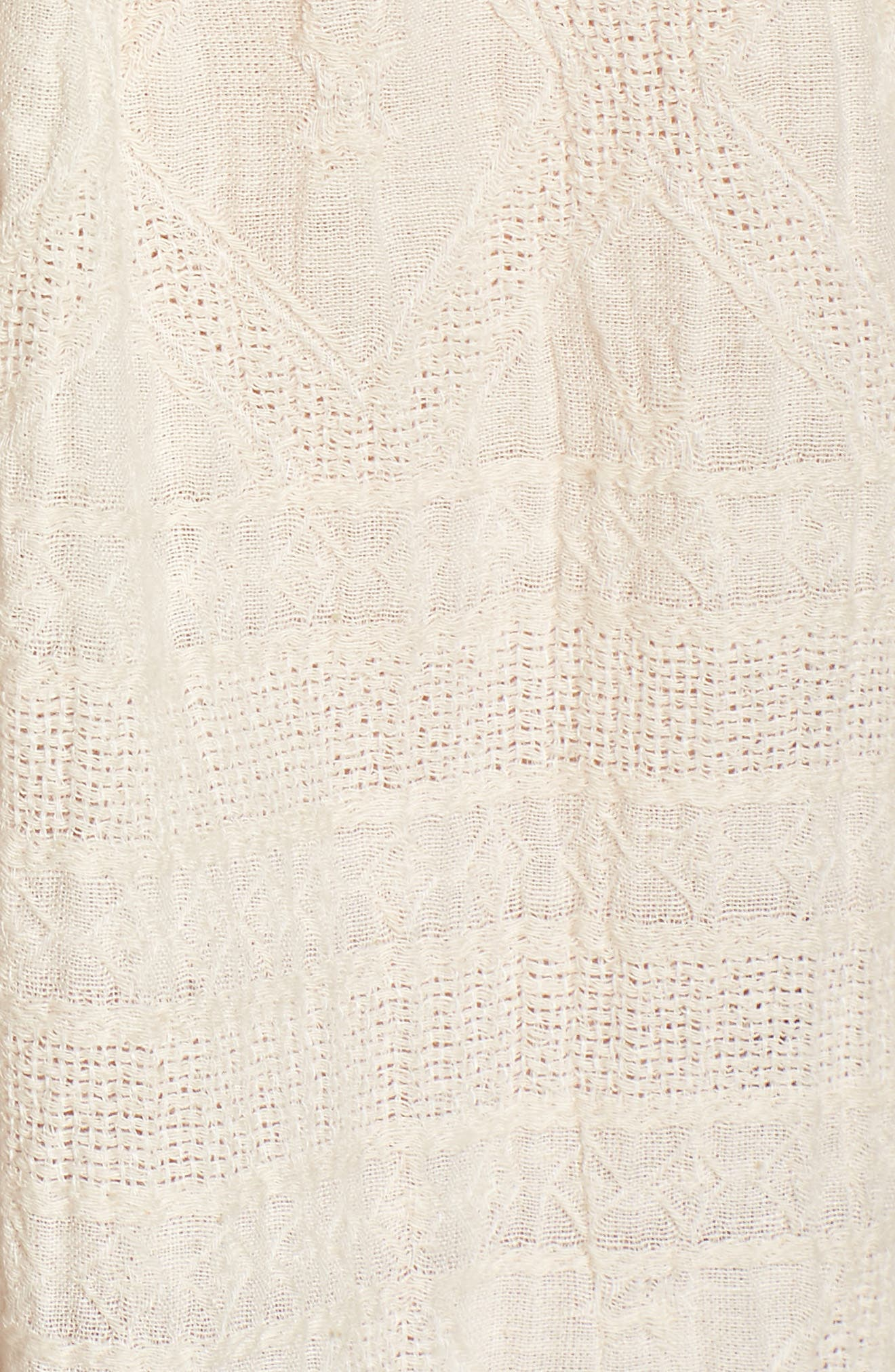 Embroidered Peasant Blouse,                             Alternate thumbnail 6, color,                             Natural Multi