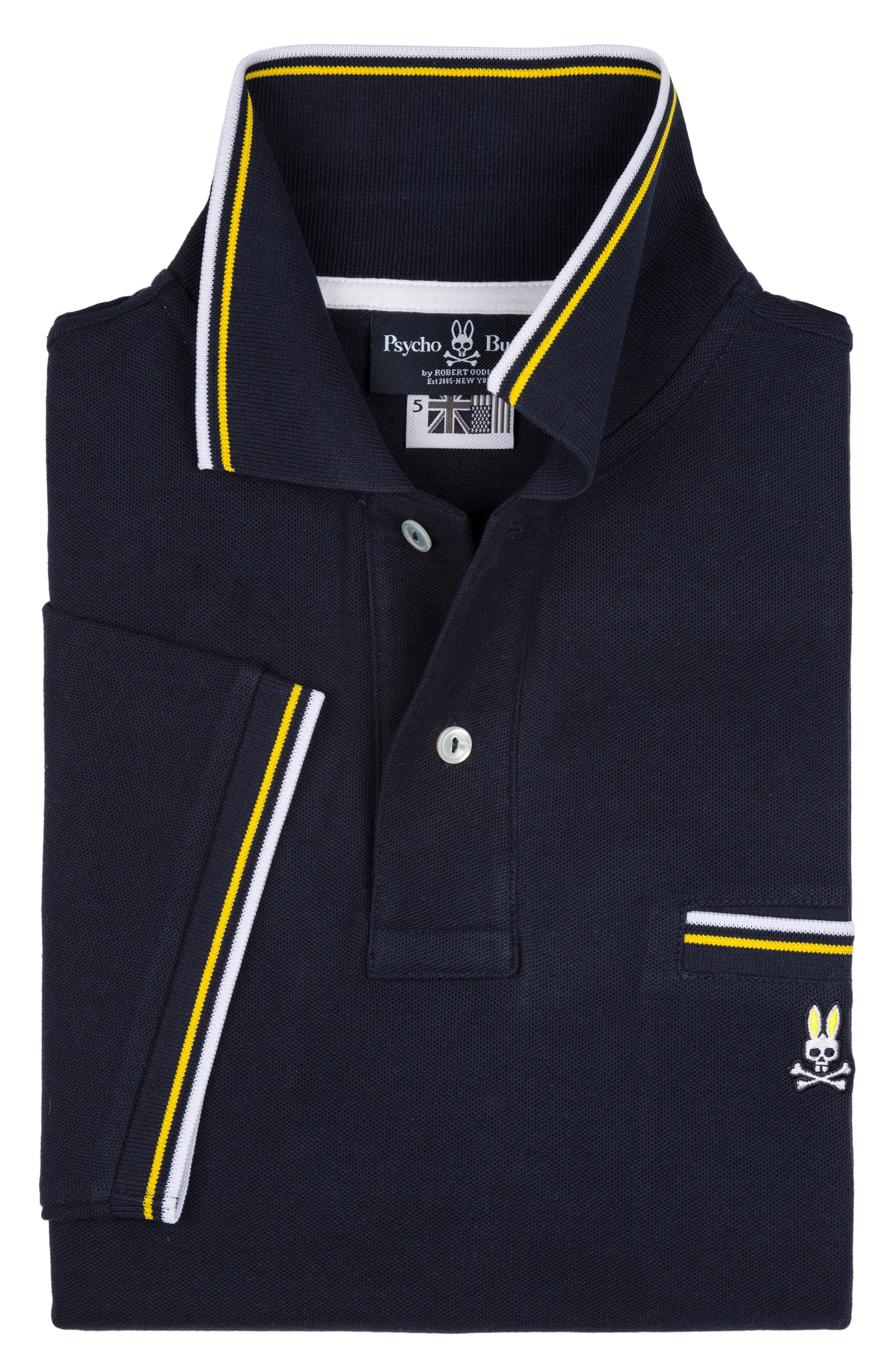 Binfield Pocket Polo,                             Alternate thumbnail 2, color,                             Navy