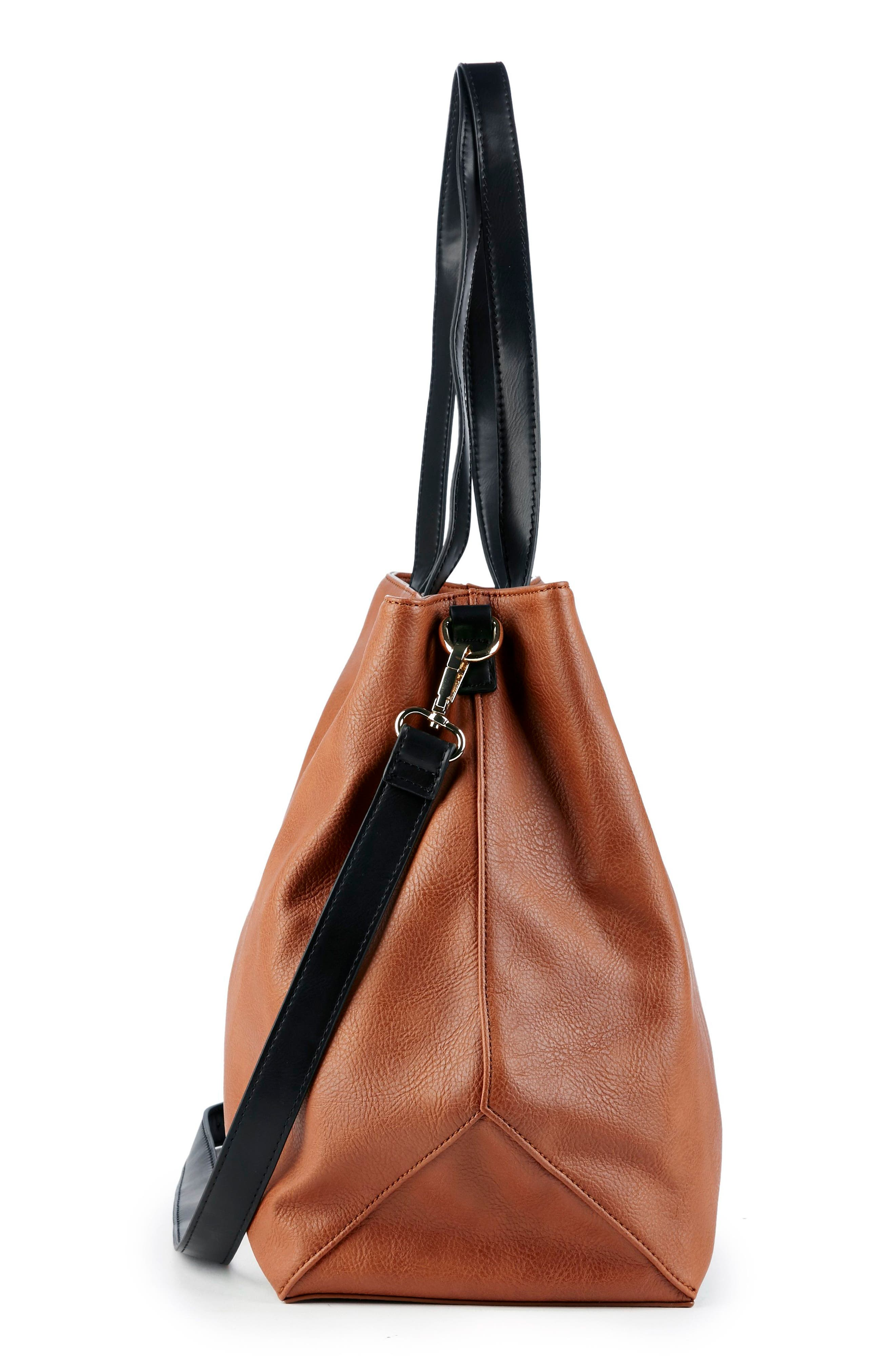 Alternate Image 5  - Sole Society Hester Faux Leather Tote