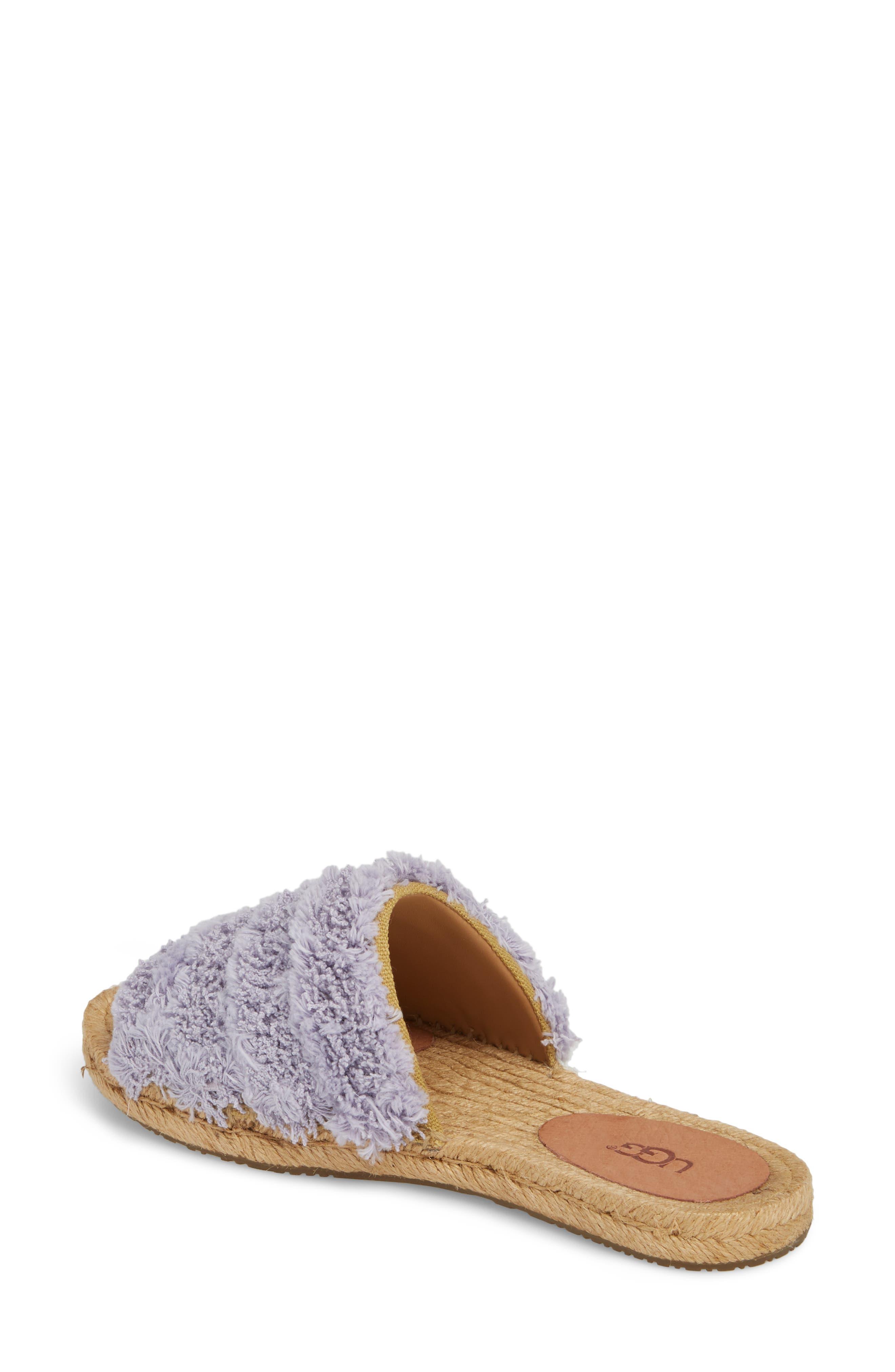 Edith Slide Sandal,                             Alternate thumbnail 2, color,                             Lavender Fog
