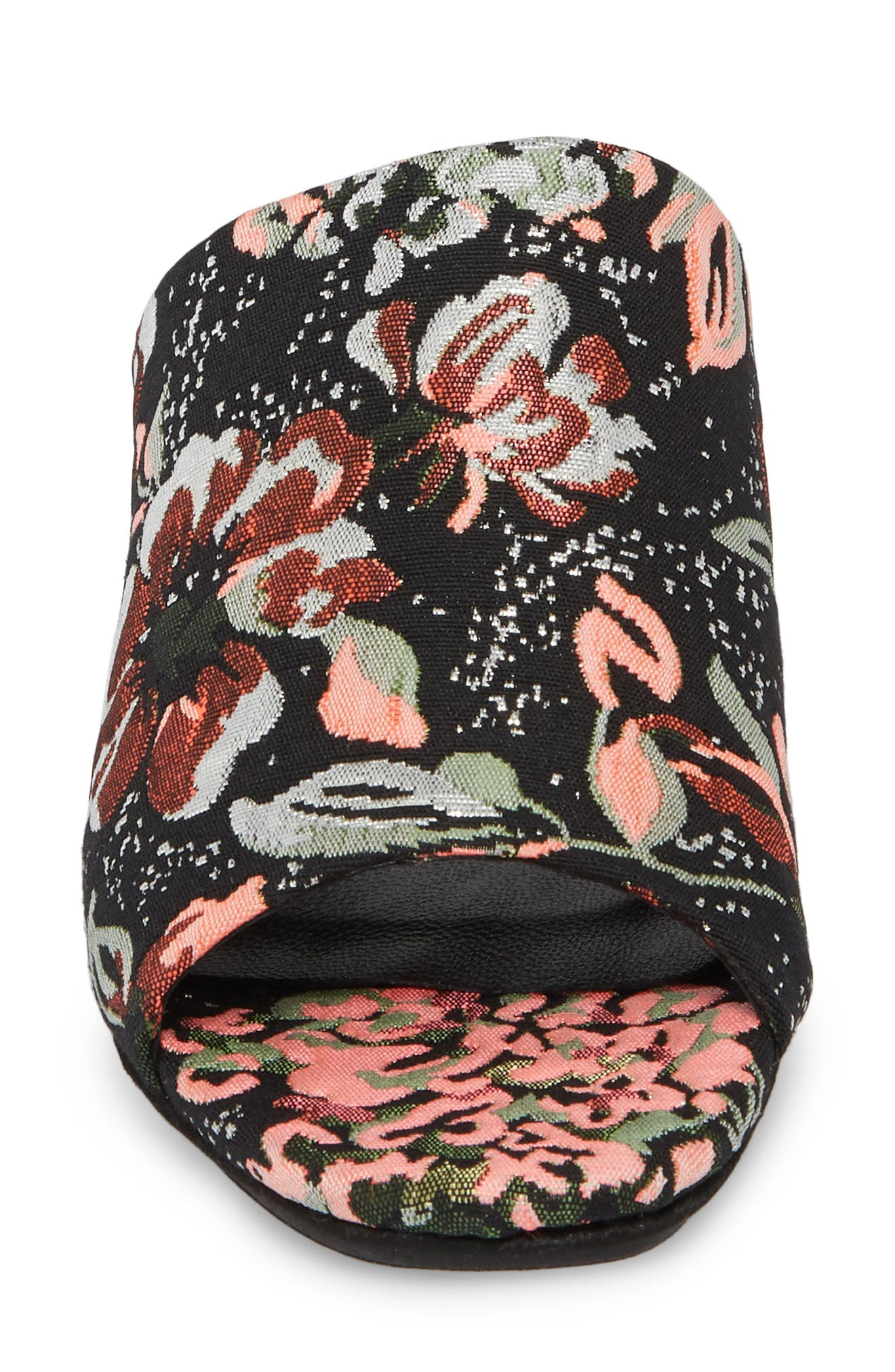 Didi Sandal,                             Alternate thumbnail 4, color,                             Black Floral