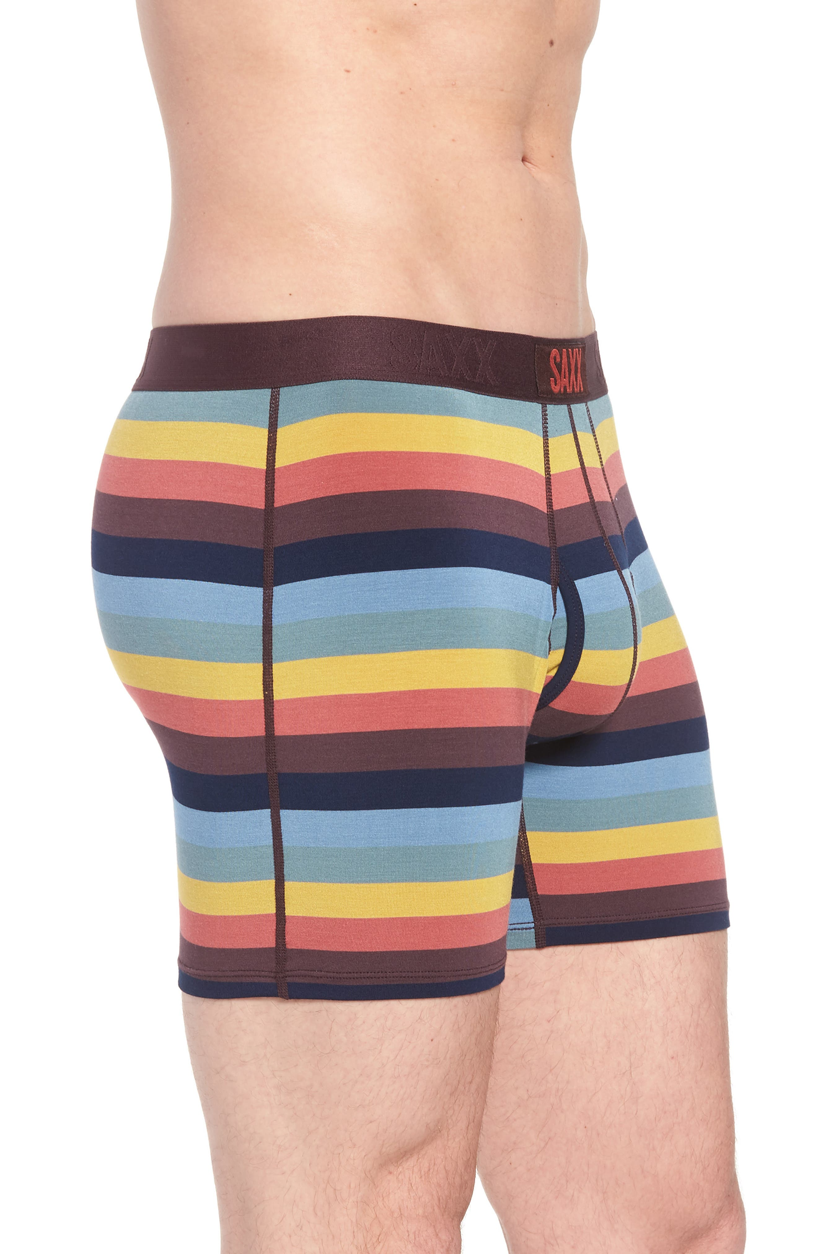 Ultra Stretch Boxer Briefs,                             Alternate thumbnail 3, color,                             Cabana Stripe