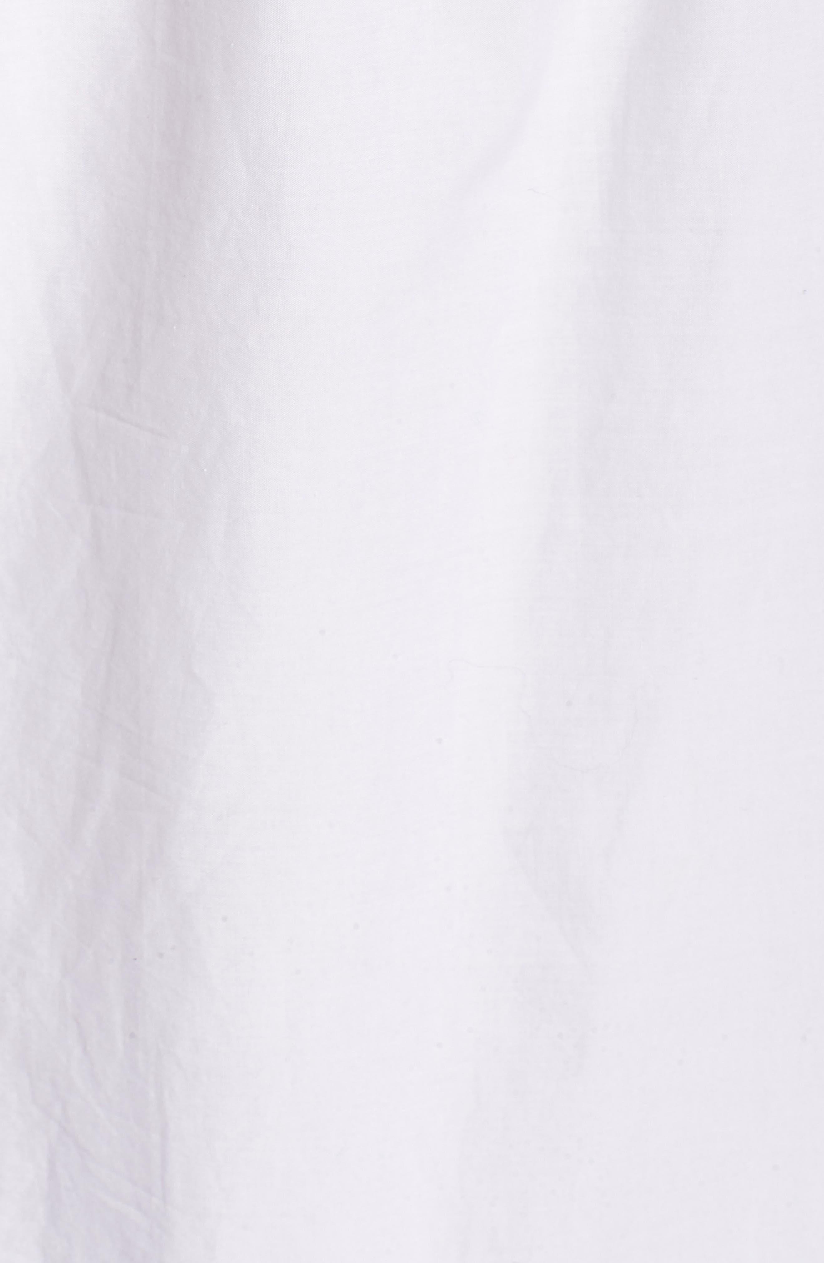 Off The Shoulder Eyelet Dress,                             Alternate thumbnail 6, color,                             White Cap