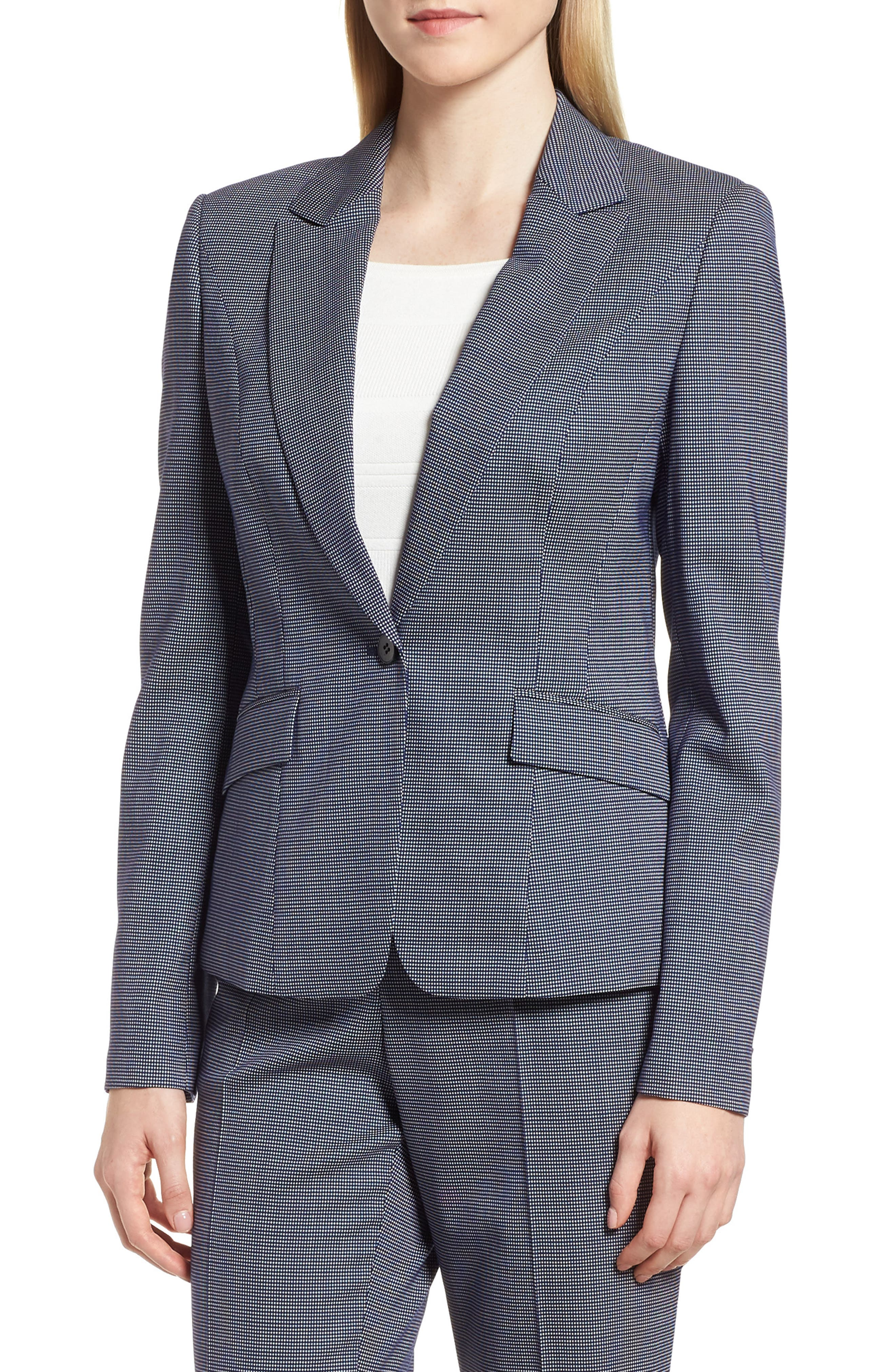BOSS Janora Minidessin Jacket