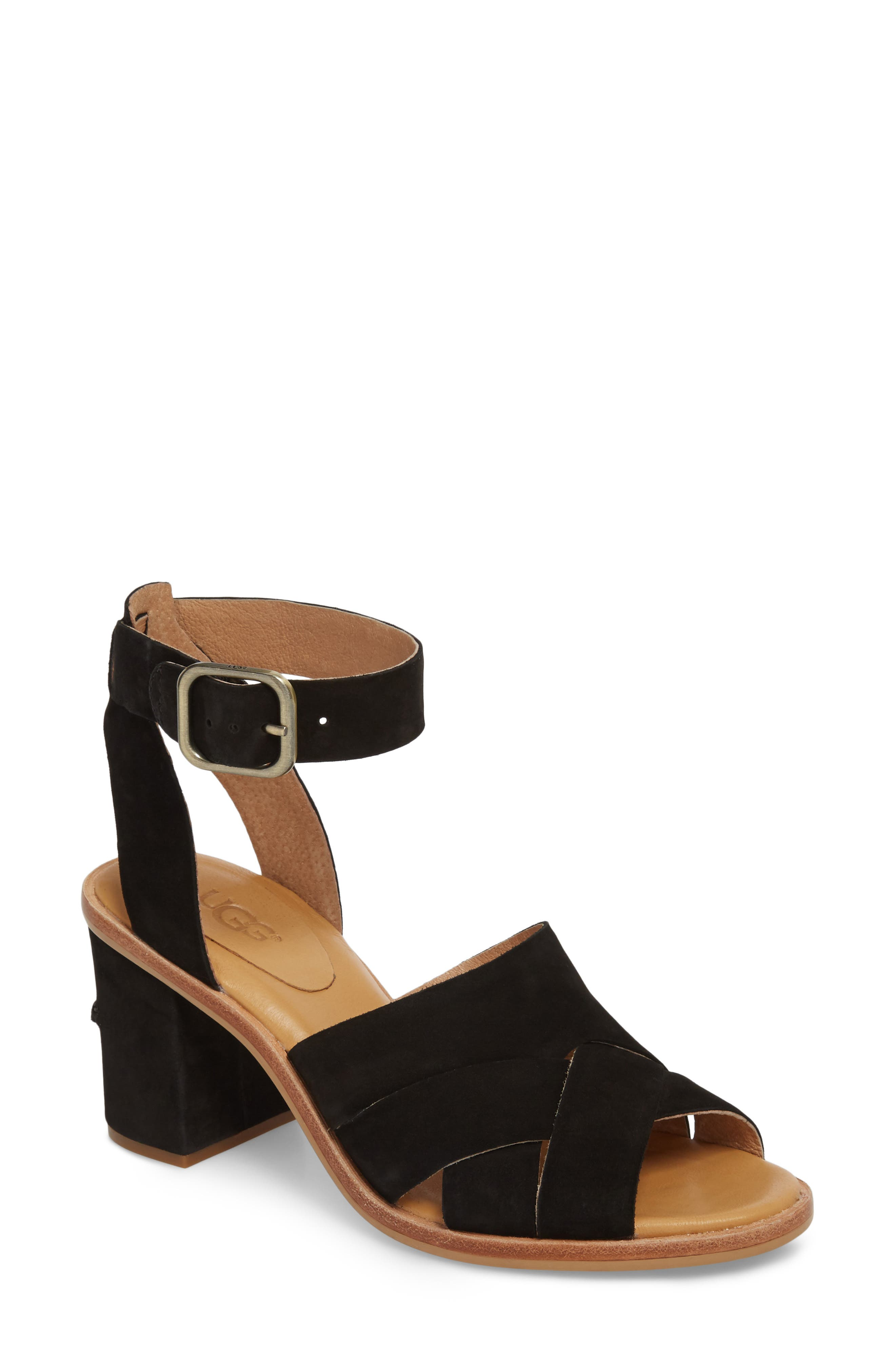 UGG® Sandra Ankle Strap Sandal (Women)