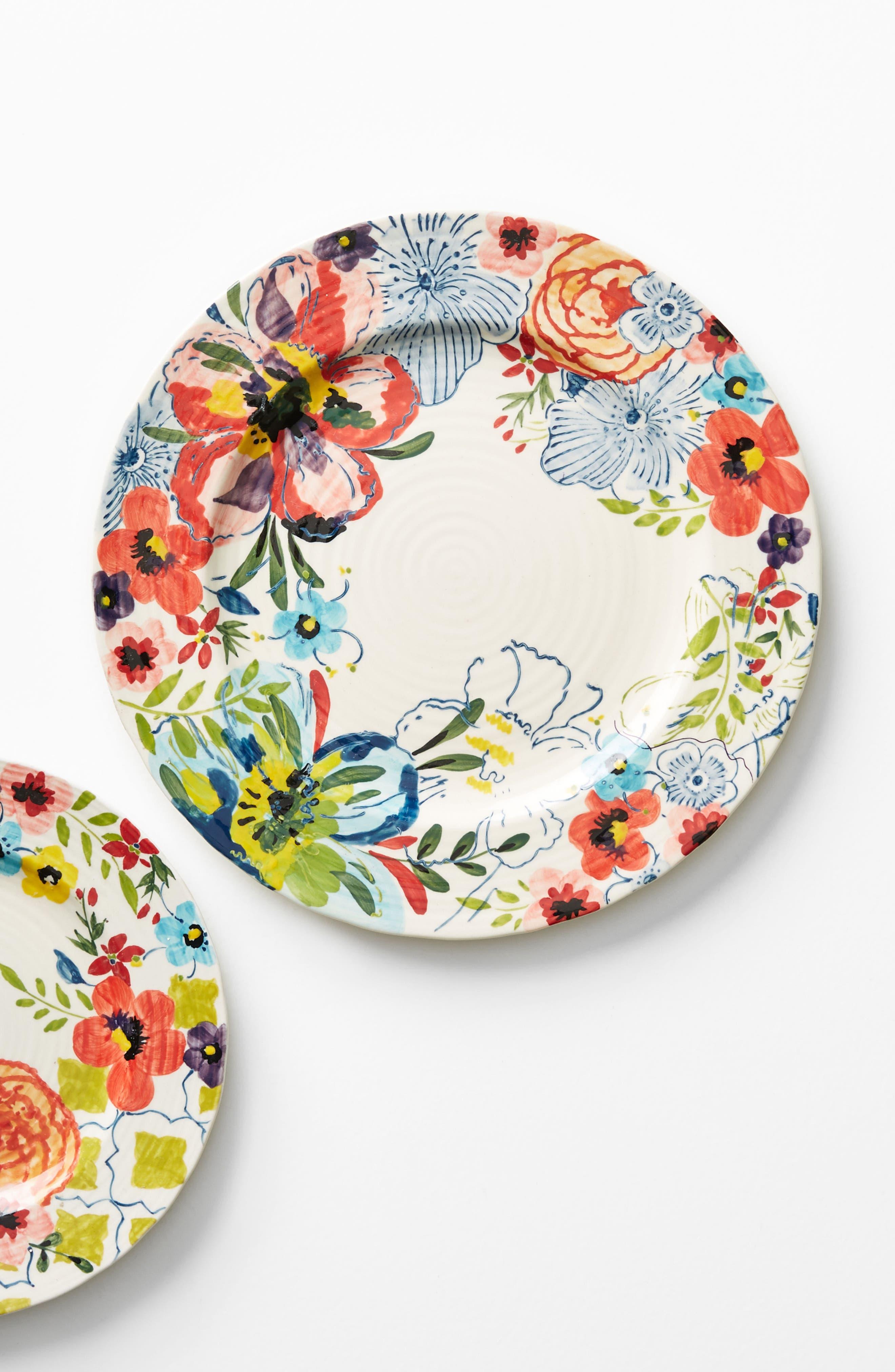 Alternate Image 3  - Anthropologie Sissinghurst Castle Dinner Plate