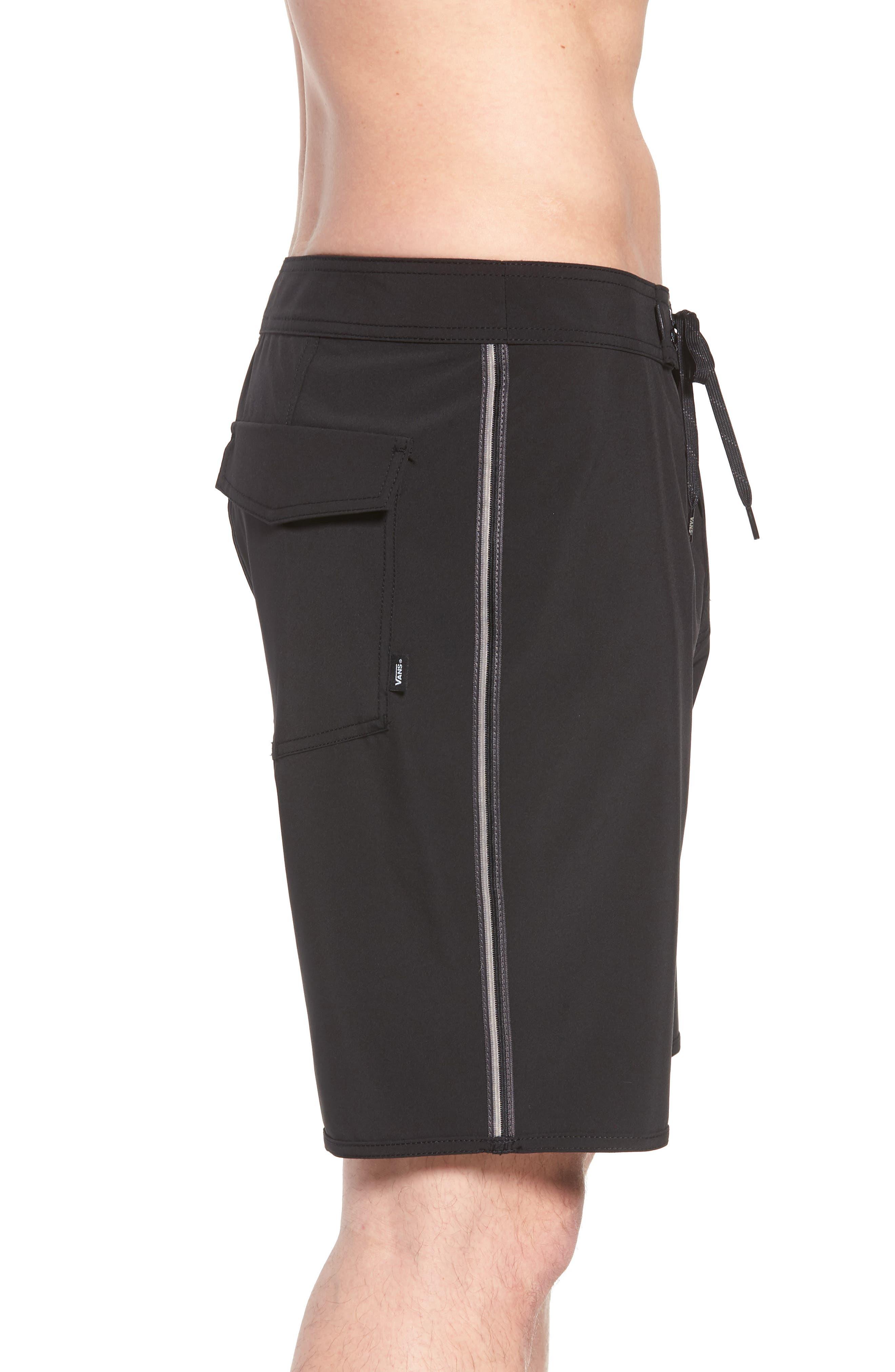Alternate Image 4  - Vans Houser Side Stripe Board Shorts