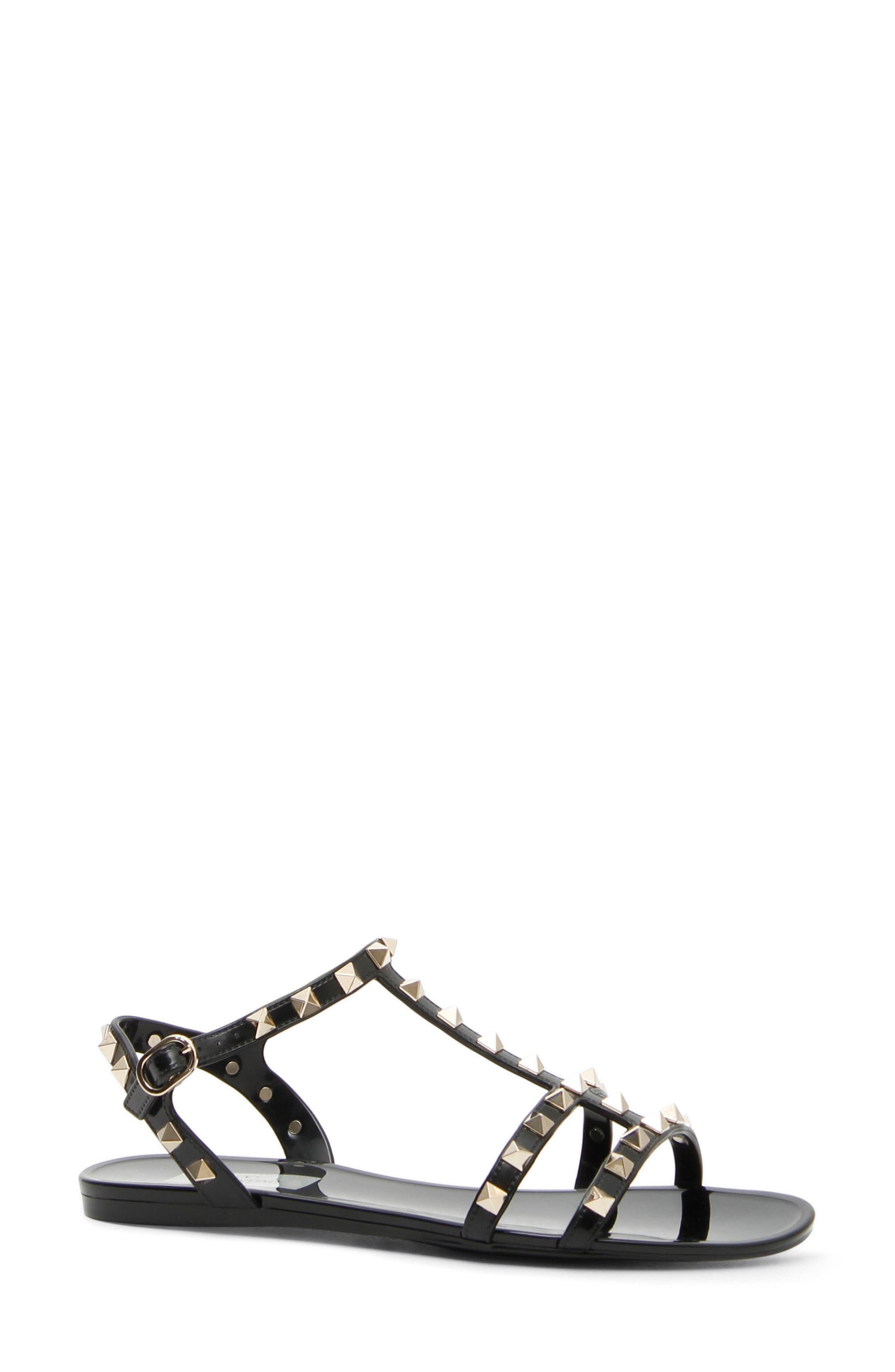 Alternate Image 1 Selected - VALENTINO GARAVANI Rockstud T-Strap Sandal (Women)