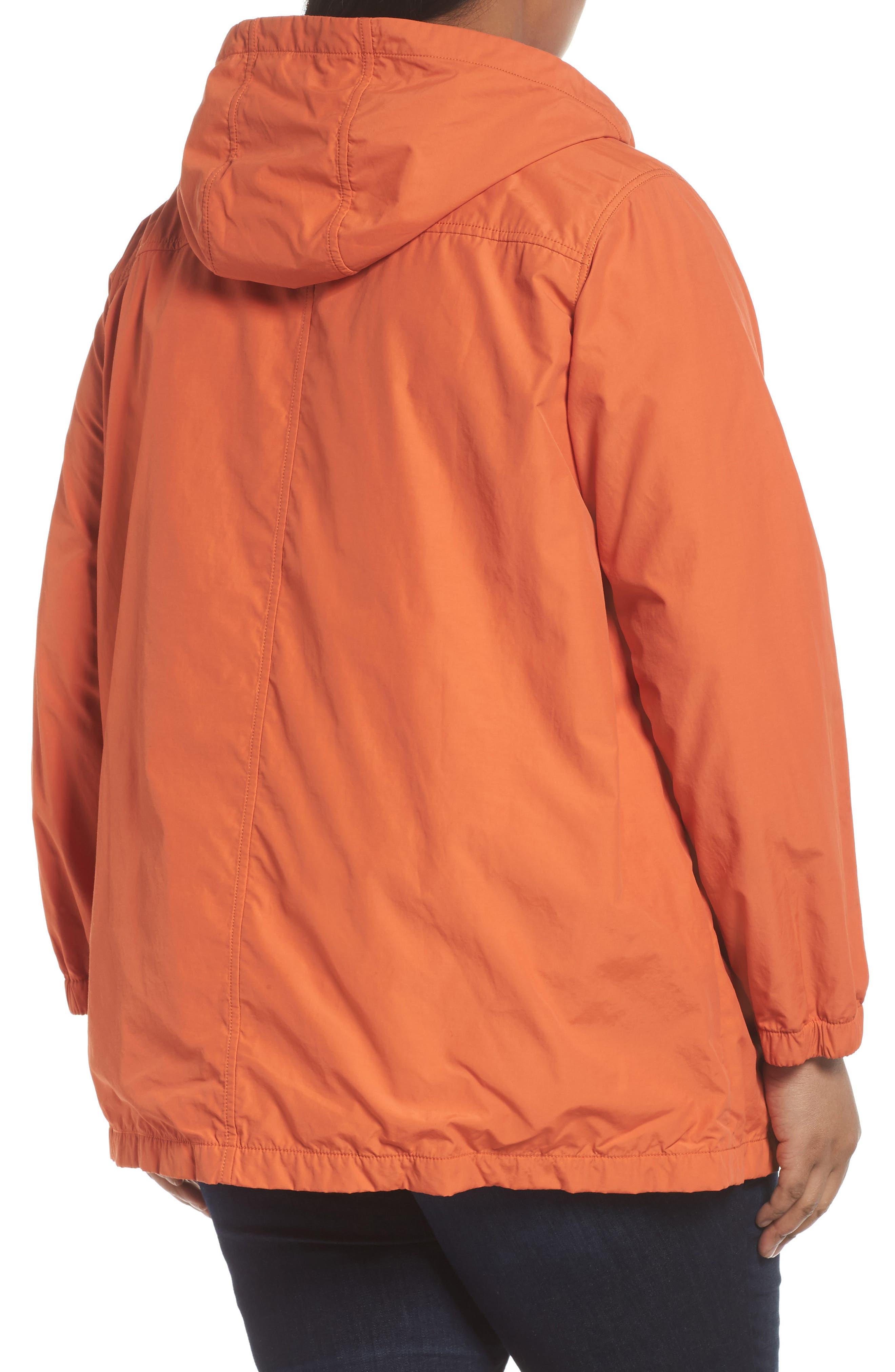 Hooded Organic Cotton Blend Jacket,                             Alternate thumbnail 2, color,                             Tiger