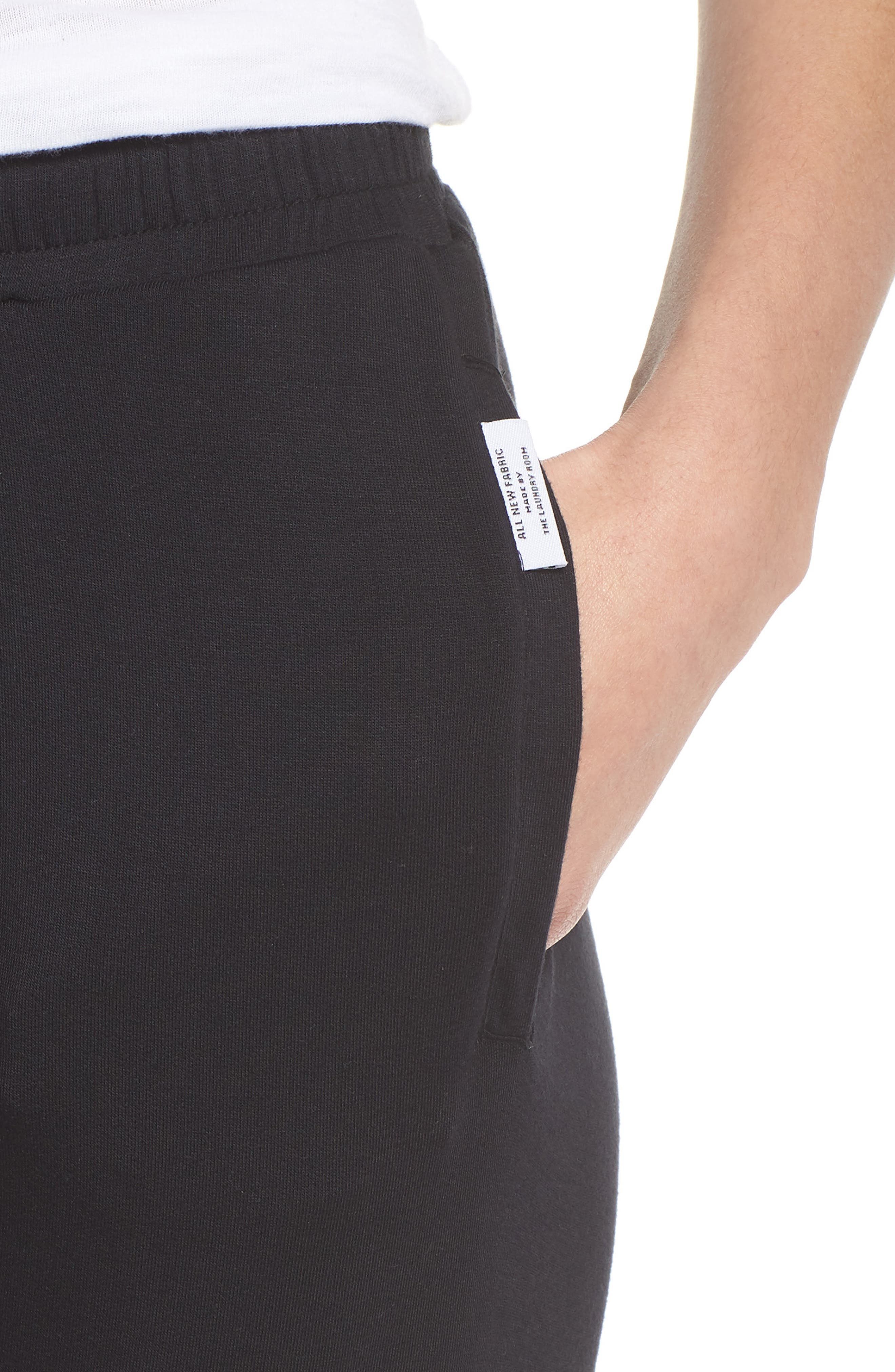Lounge Pants,                             Alternate thumbnail 4, color,                             Black