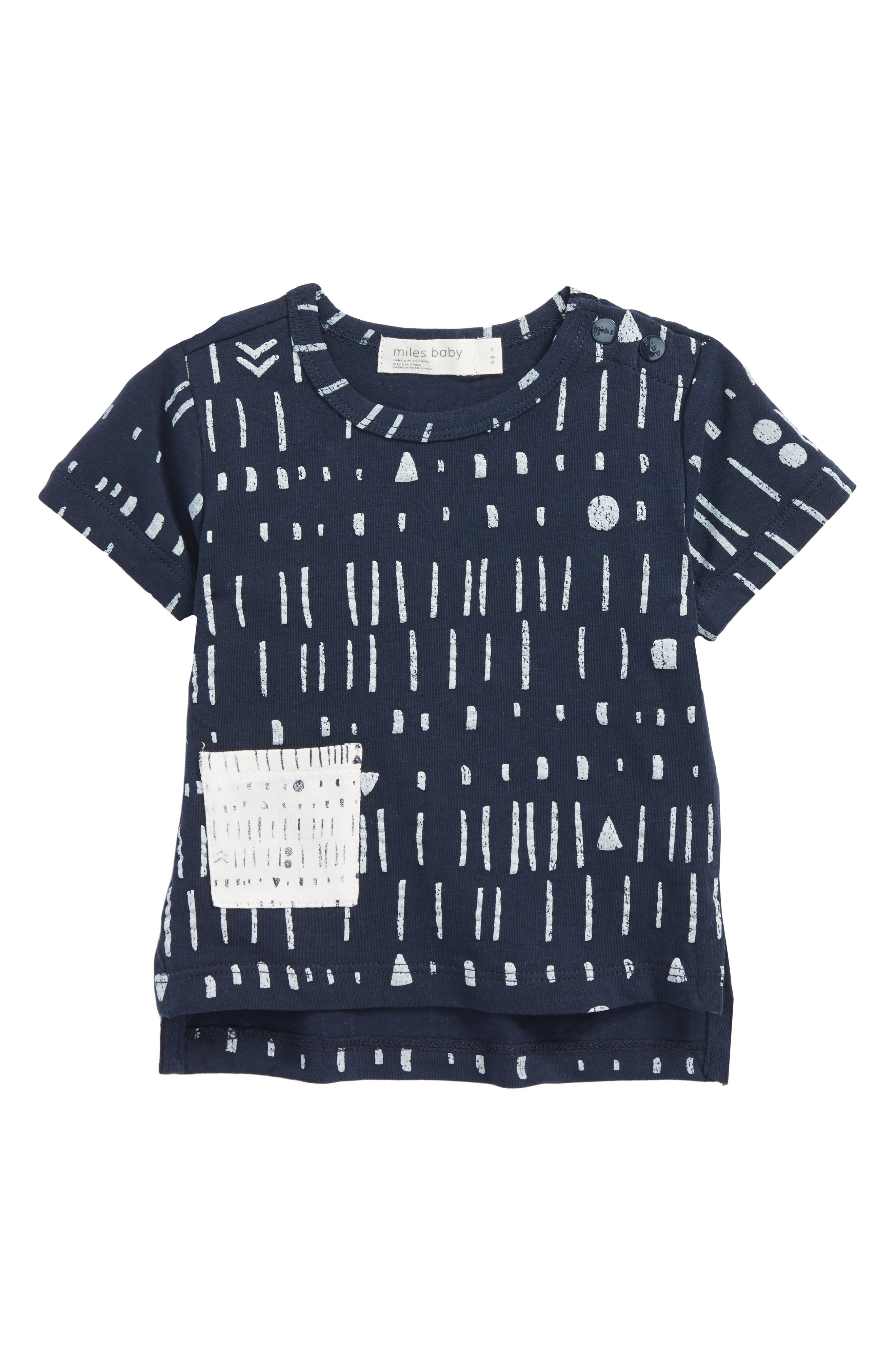 Pocket T-Shirt,                             Main thumbnail 1, color,                             Navy
