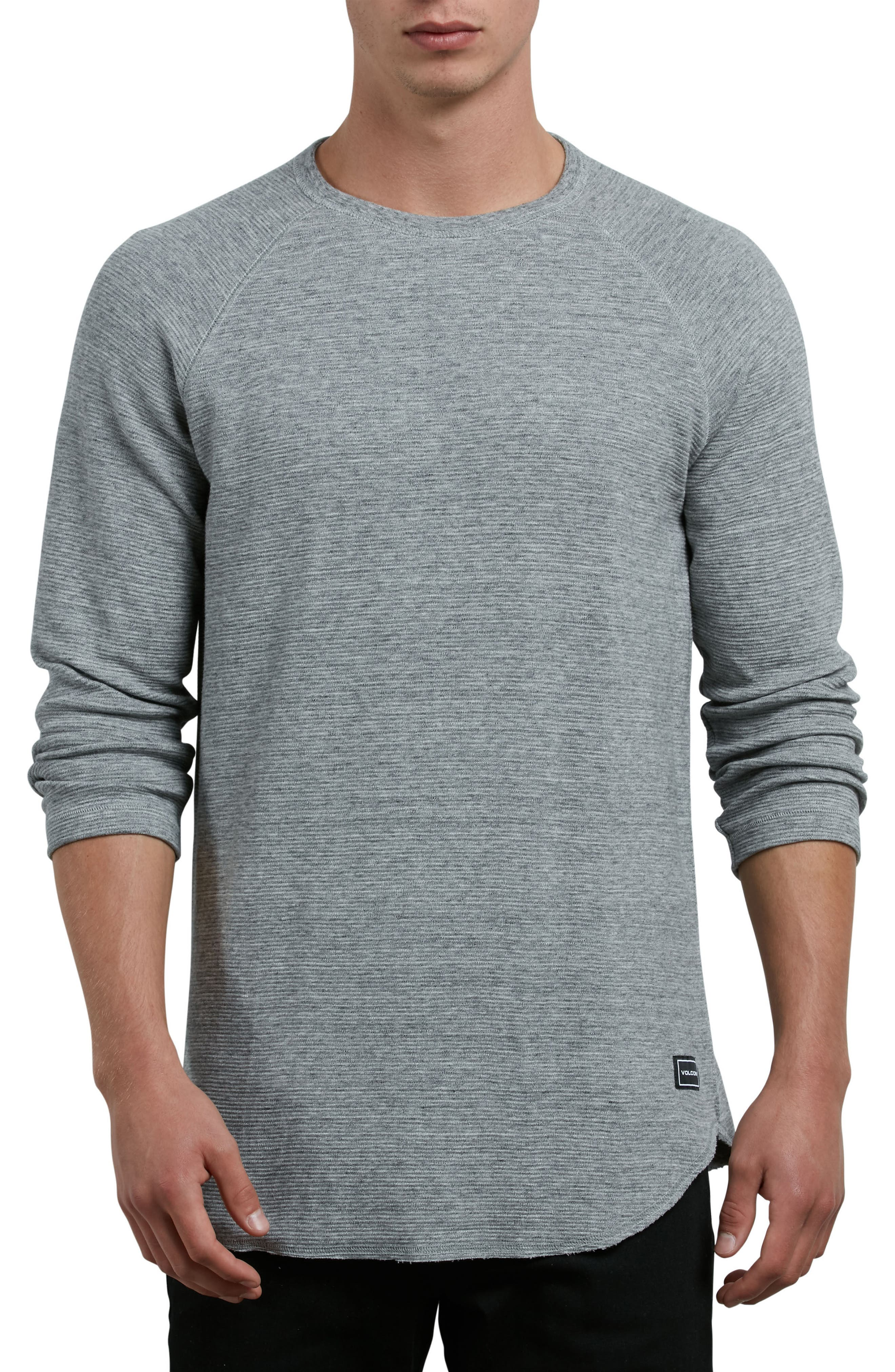 Warren Long Sleeve Stripe T-Shirt,                             Main thumbnail 1, color,                             Mist