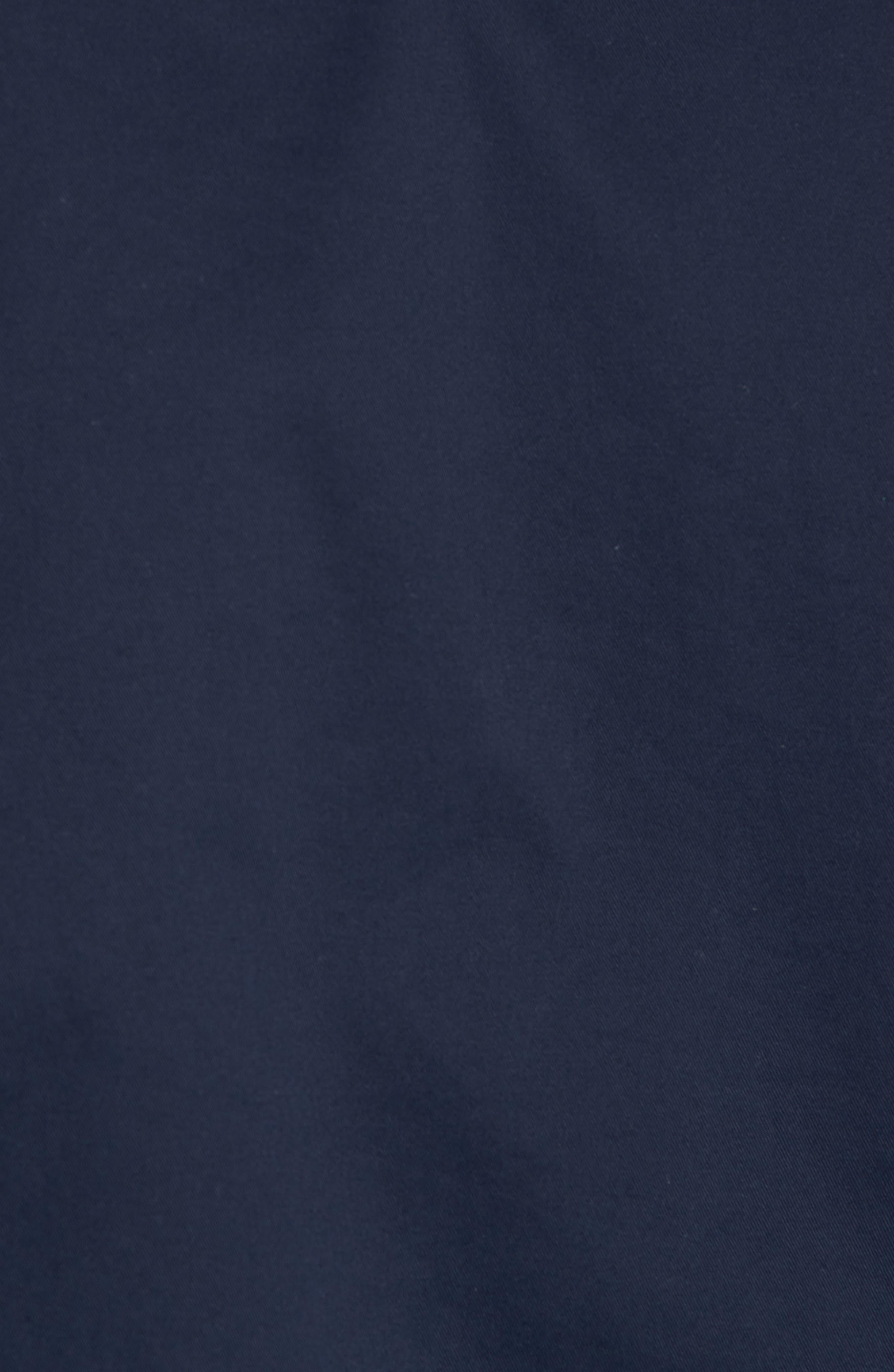 Reversible Bomber Jacket,                             Alternate thumbnail 6, color,                             Navy Iris