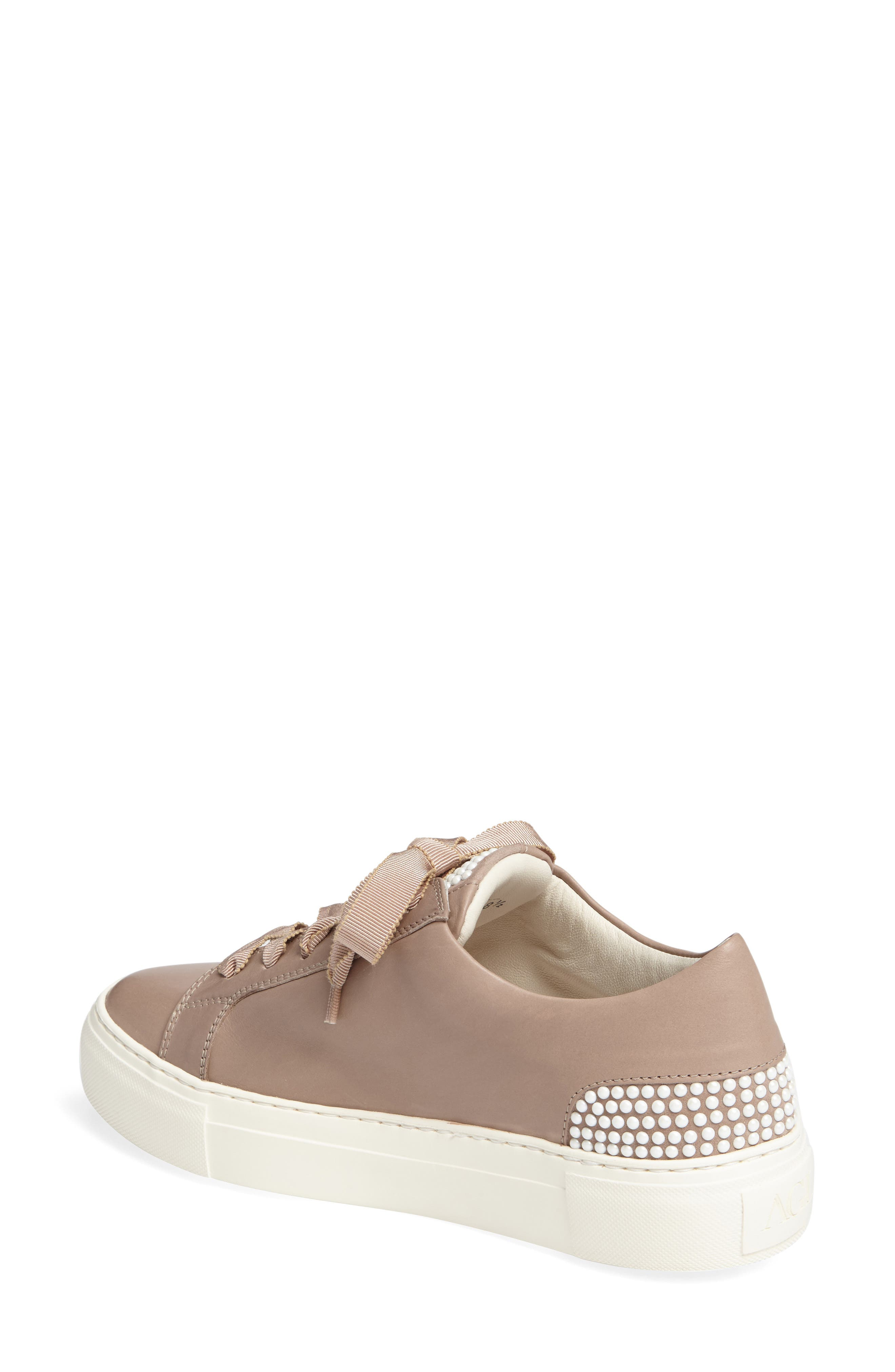 Pearl Sneaker,                             Alternate thumbnail 2, color,                             Pale Leather
