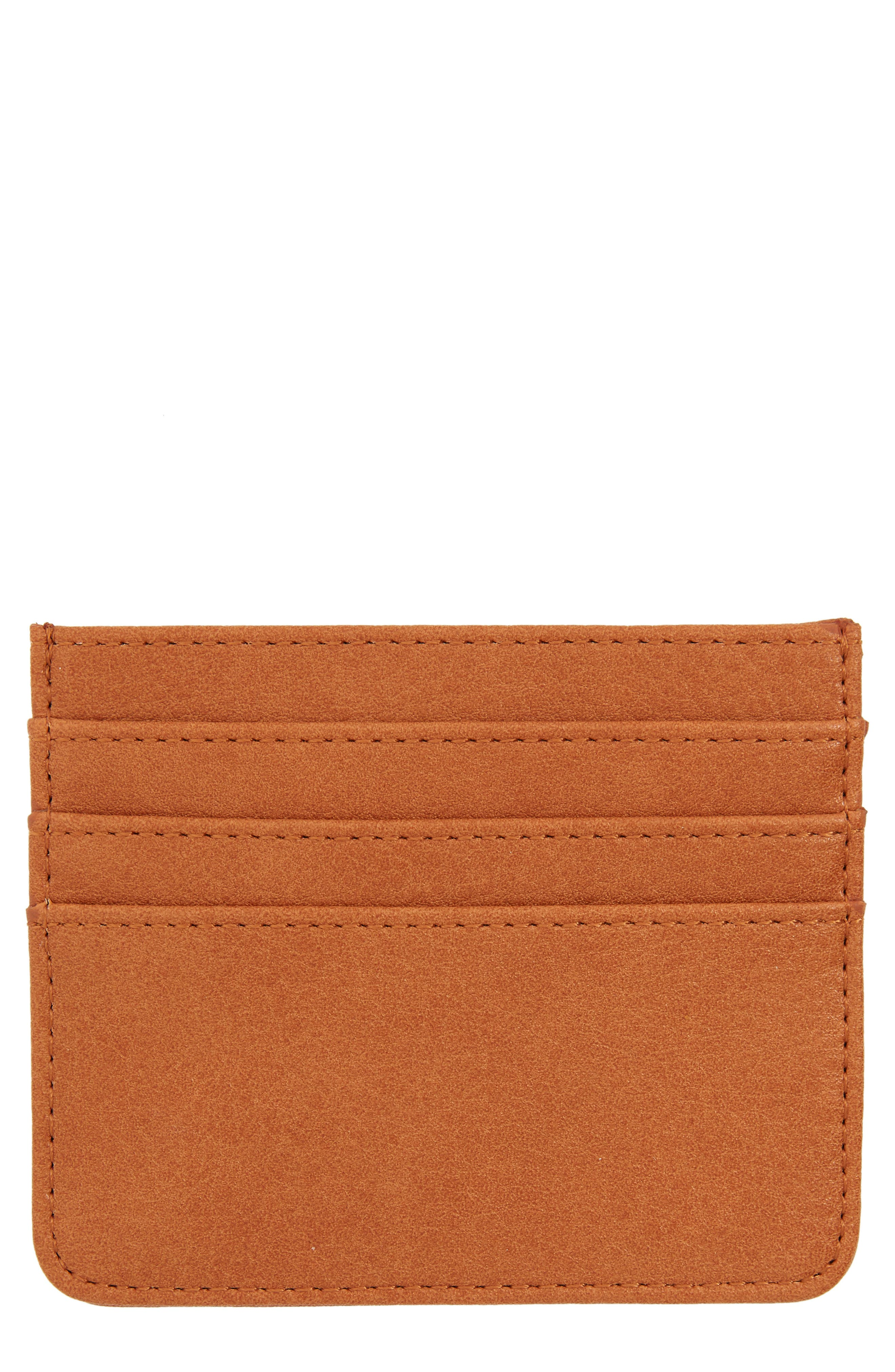 Main Image - BP. Faux Leather Card Case