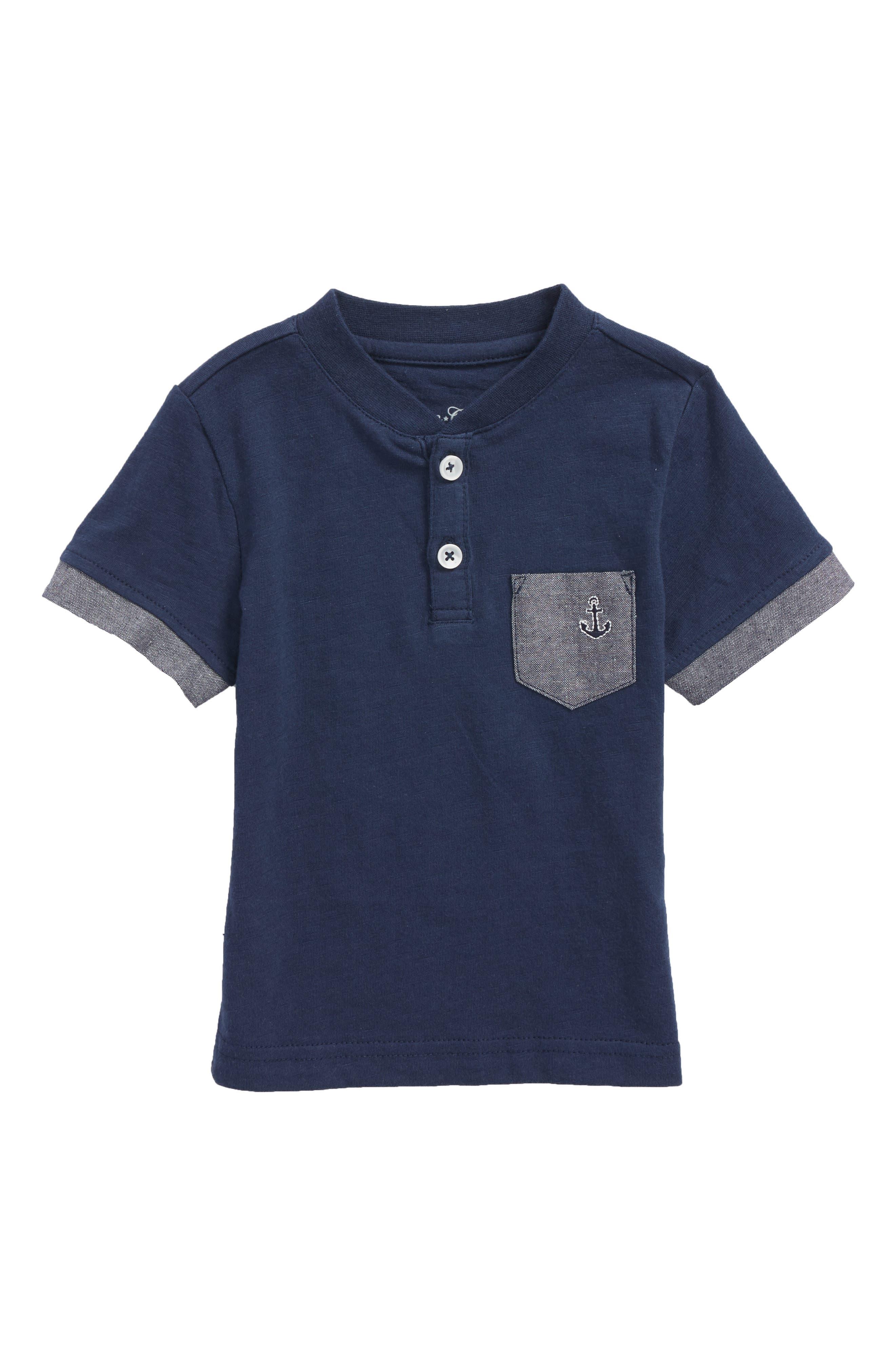 Goodlife T-Shirt,                         Main,                         color, Navy
