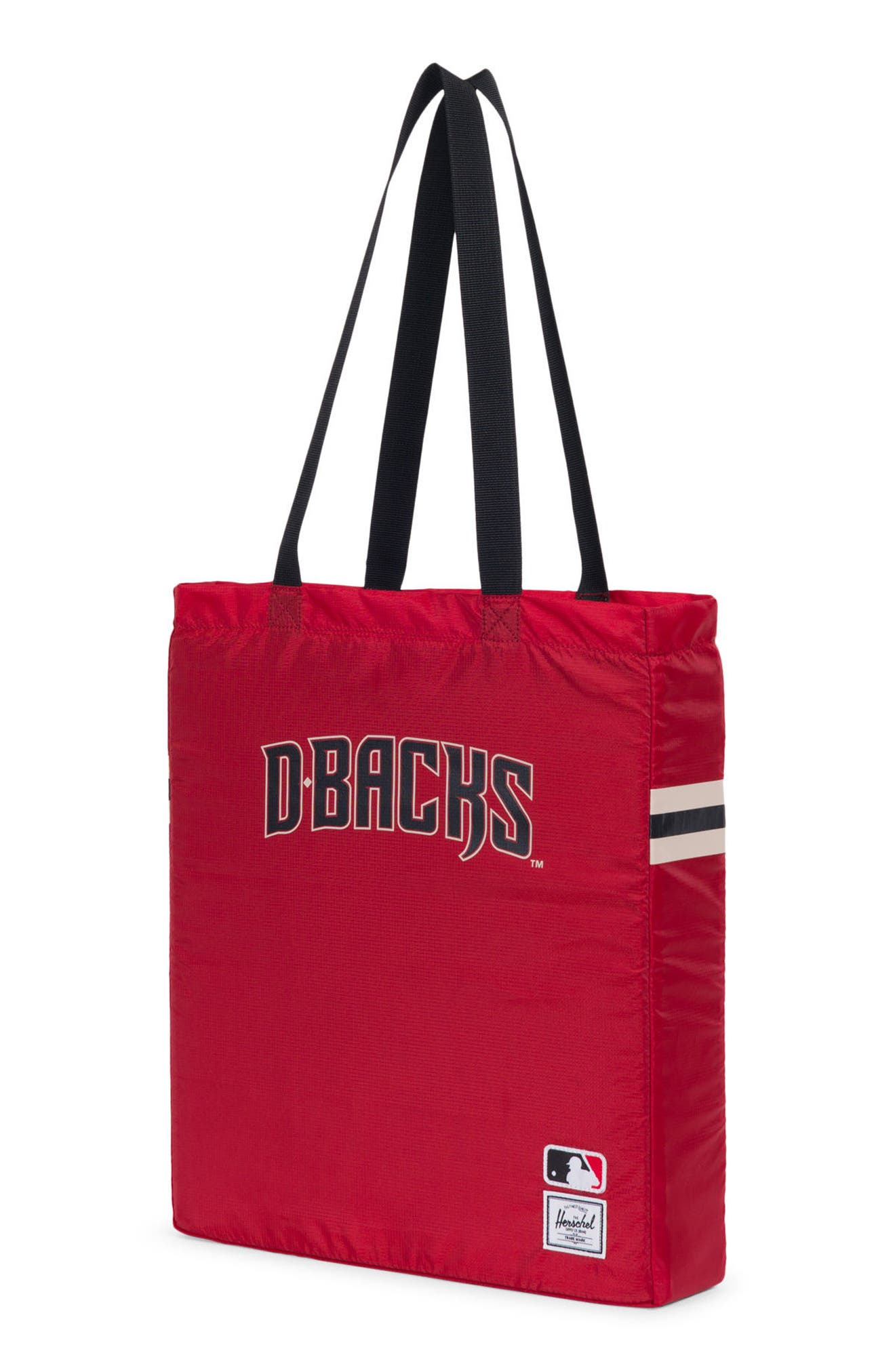Packable - MLB National League Tote Bag,                             Alternate thumbnail 2, color,                             Arizona Diamondbacks