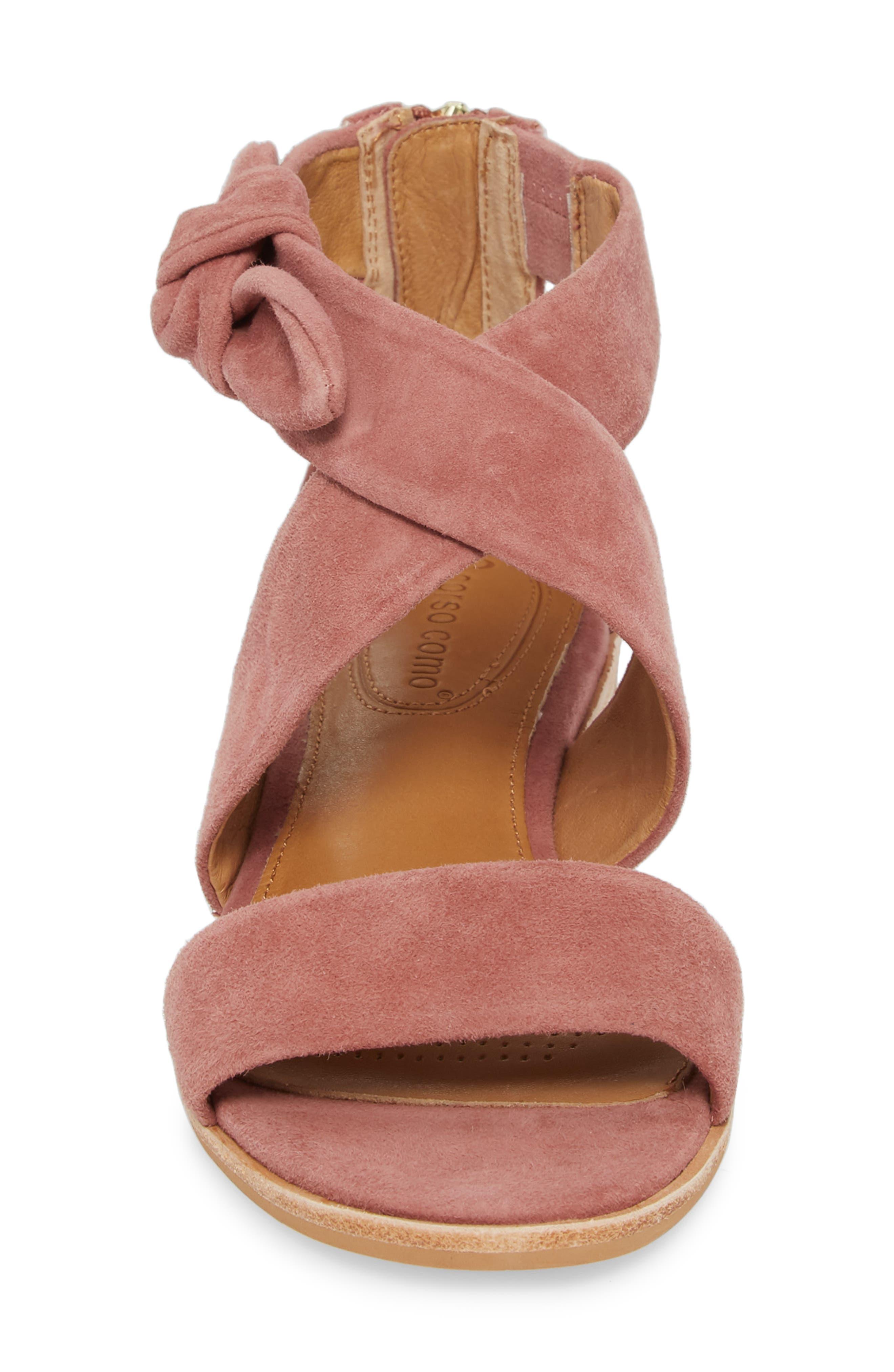 Rasque Sandal,                             Alternate thumbnail 4, color,                             Old Rose Leather