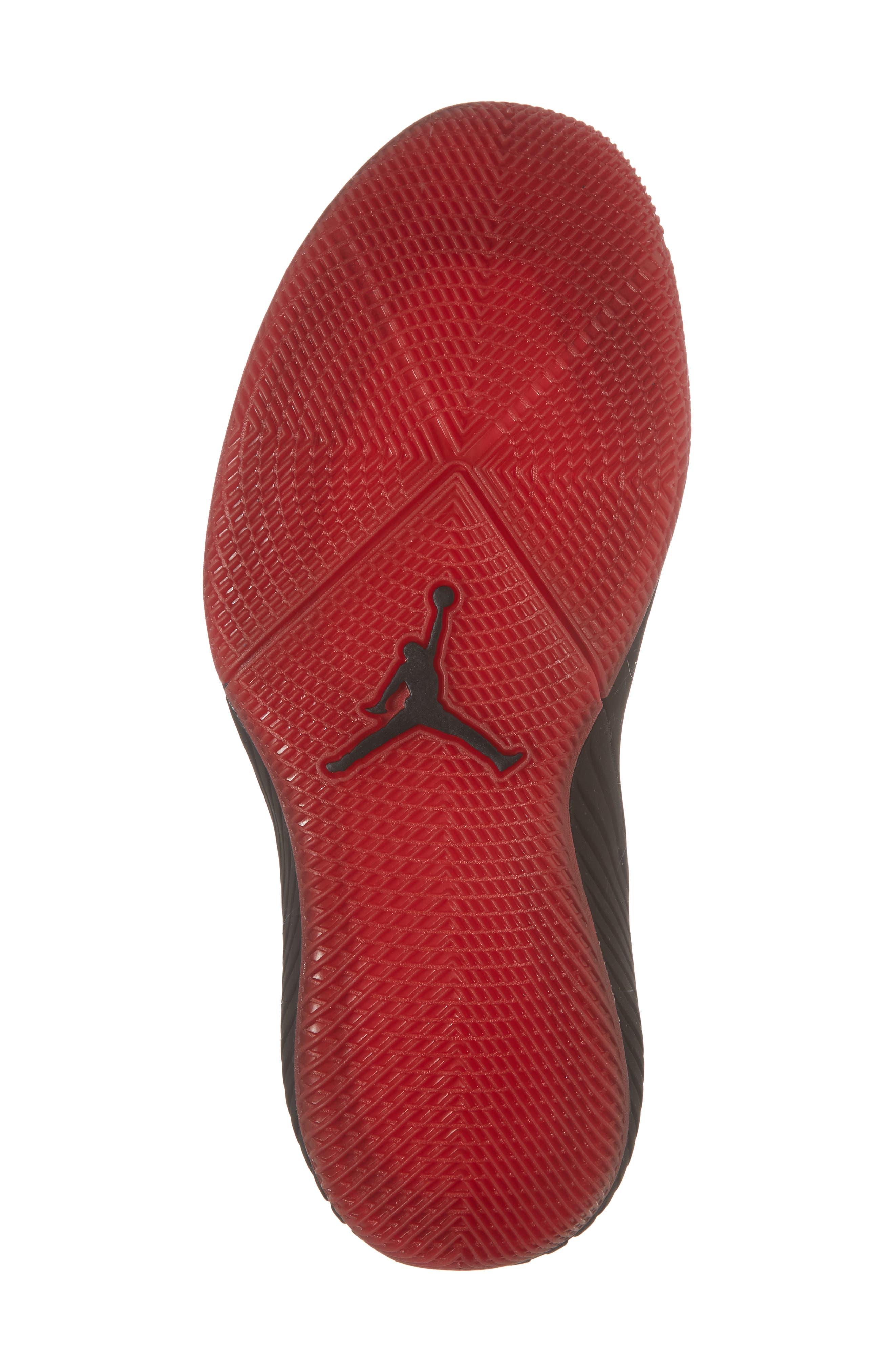 Jordan 'Why Not?' Zero.1 Basketball Shoe,                             Alternate thumbnail 6, color,                             Black/ Hyper Royal
