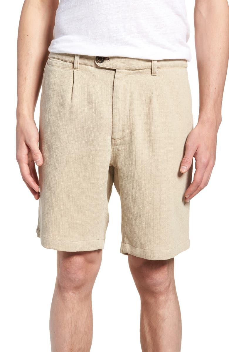 Thomas Regular Fit Pleated Shorts