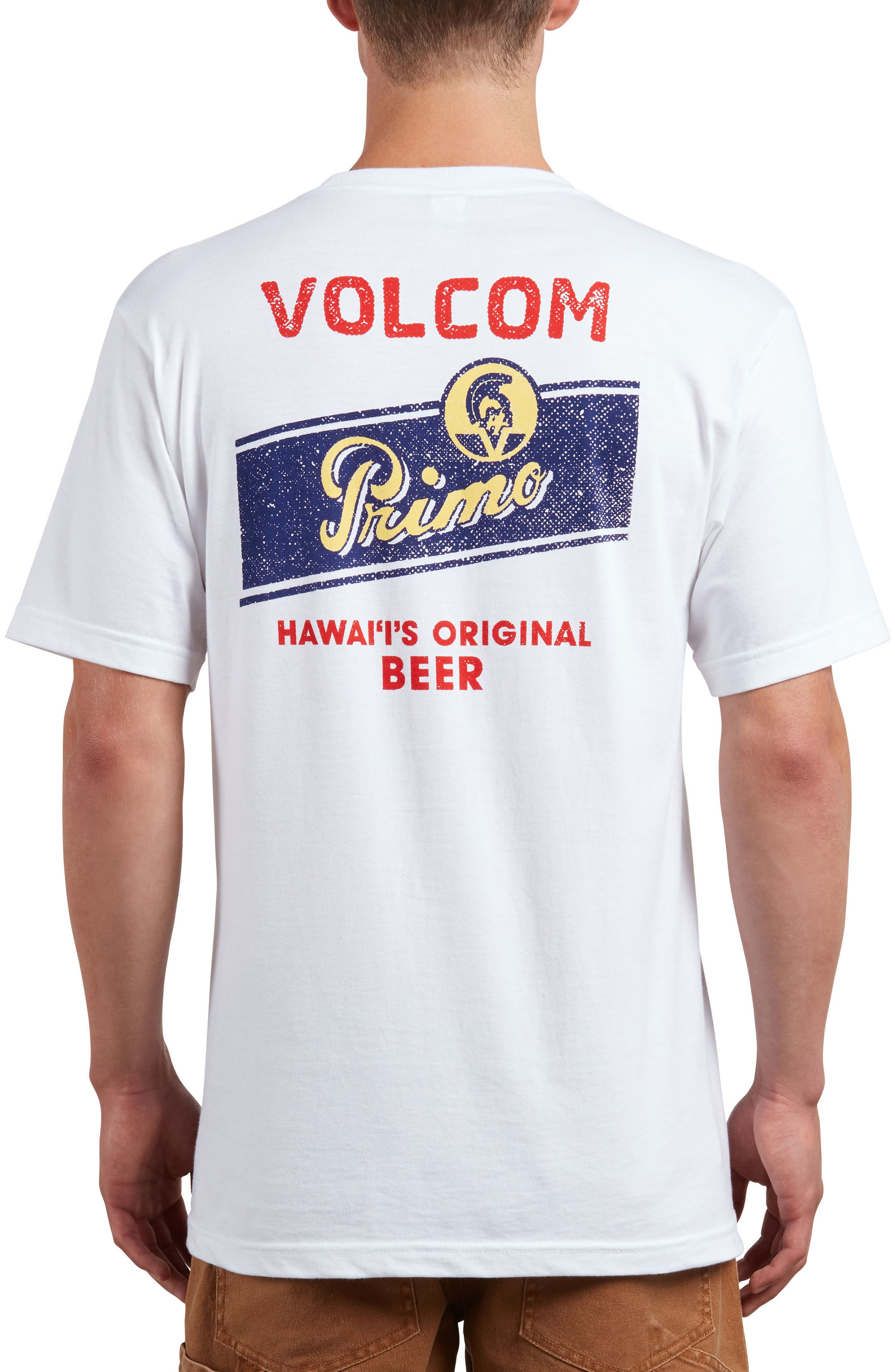 Primo Chug T-Shirt,                             Alternate thumbnail 2, color,                             White