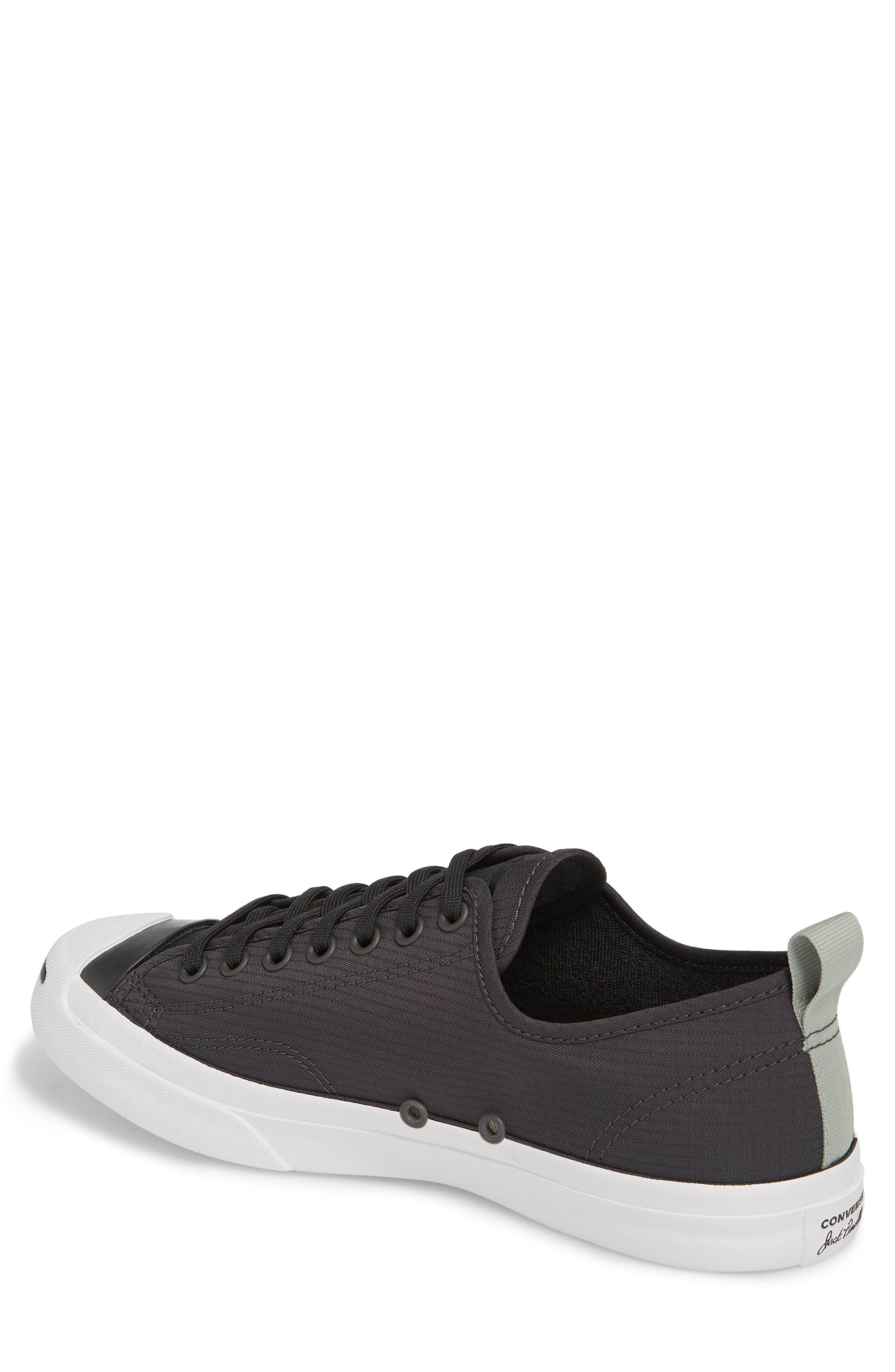 Jack Purcell Ripstop Sneaker,                             Alternate thumbnail 2, color,                             Black