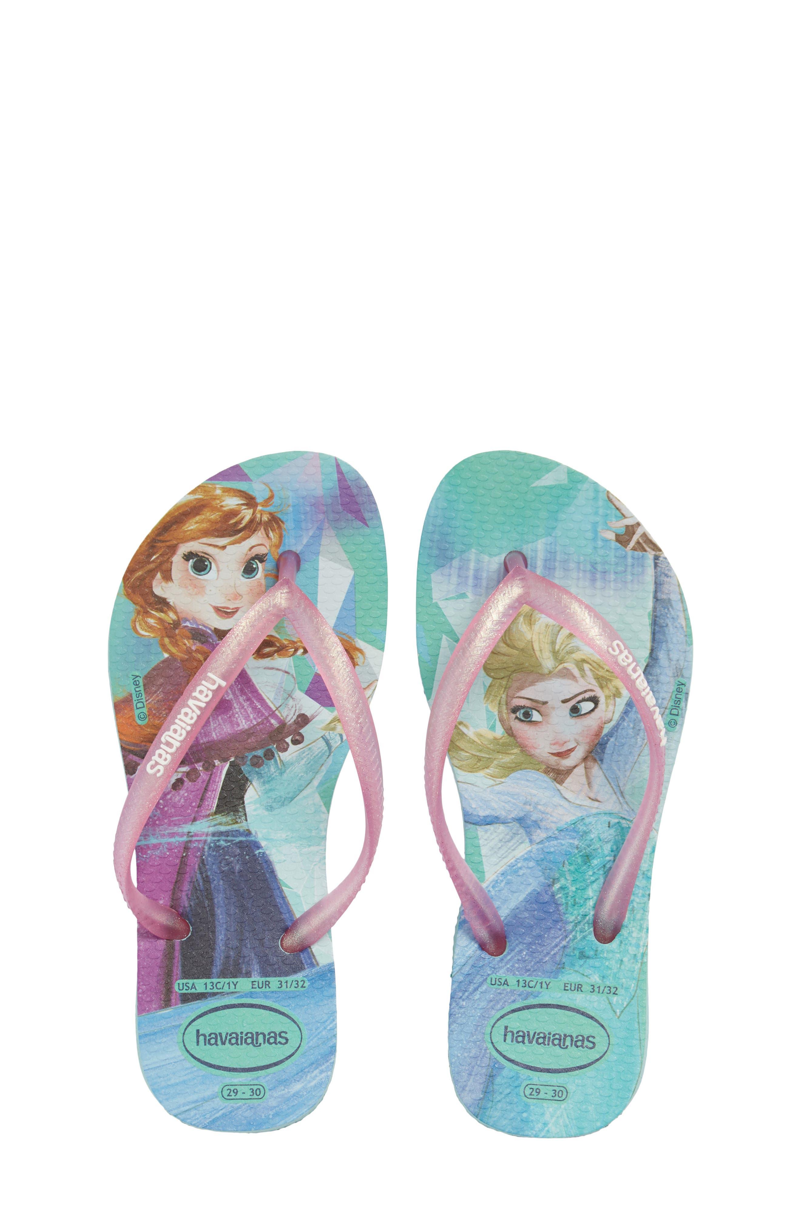 Main Image - Havaianas Slim Frozen Flip Flop (Toddler & Little Kid)