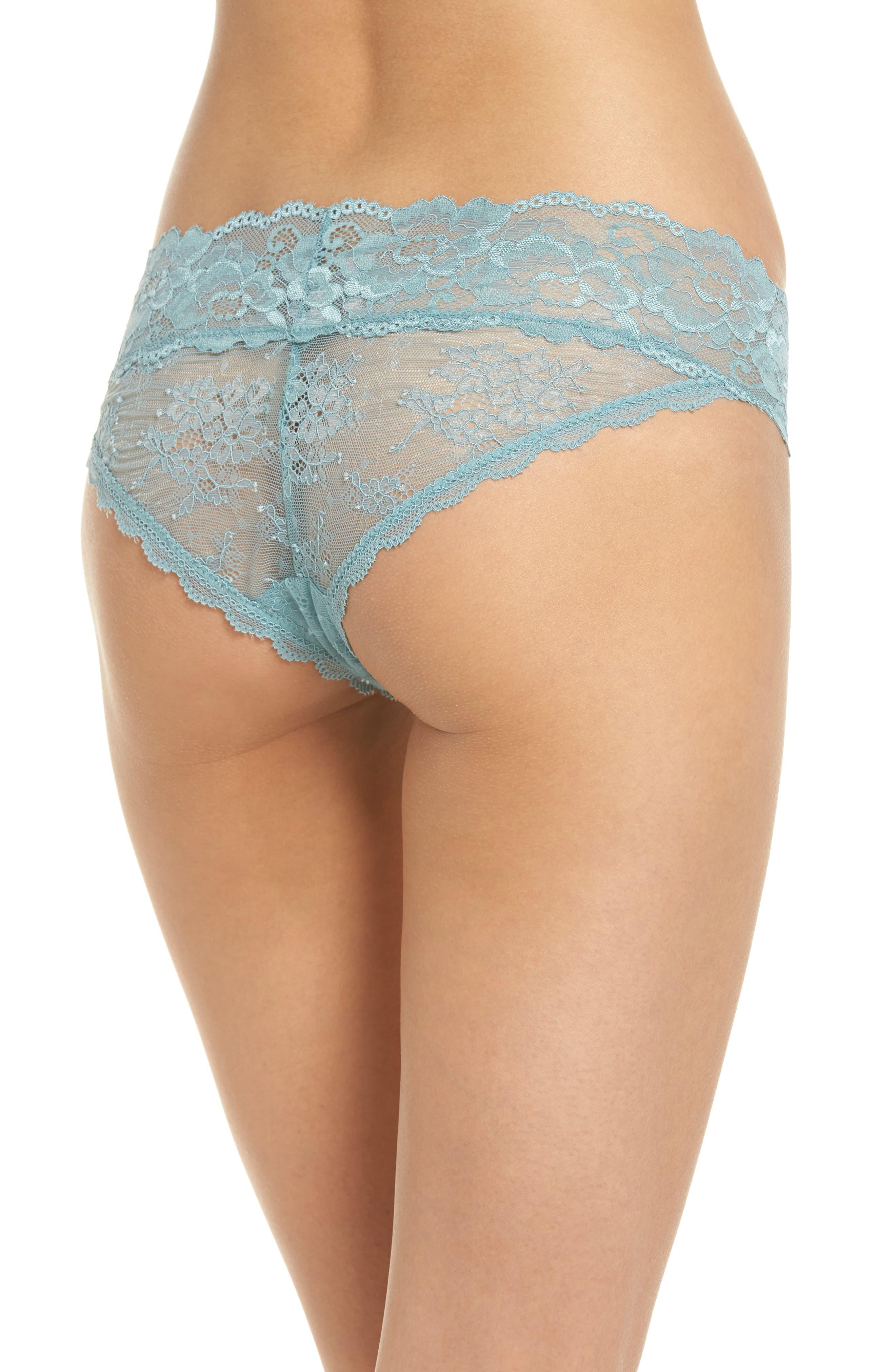 Alternate Image 2  - Honeydew Lace Bikini (3 for $33)