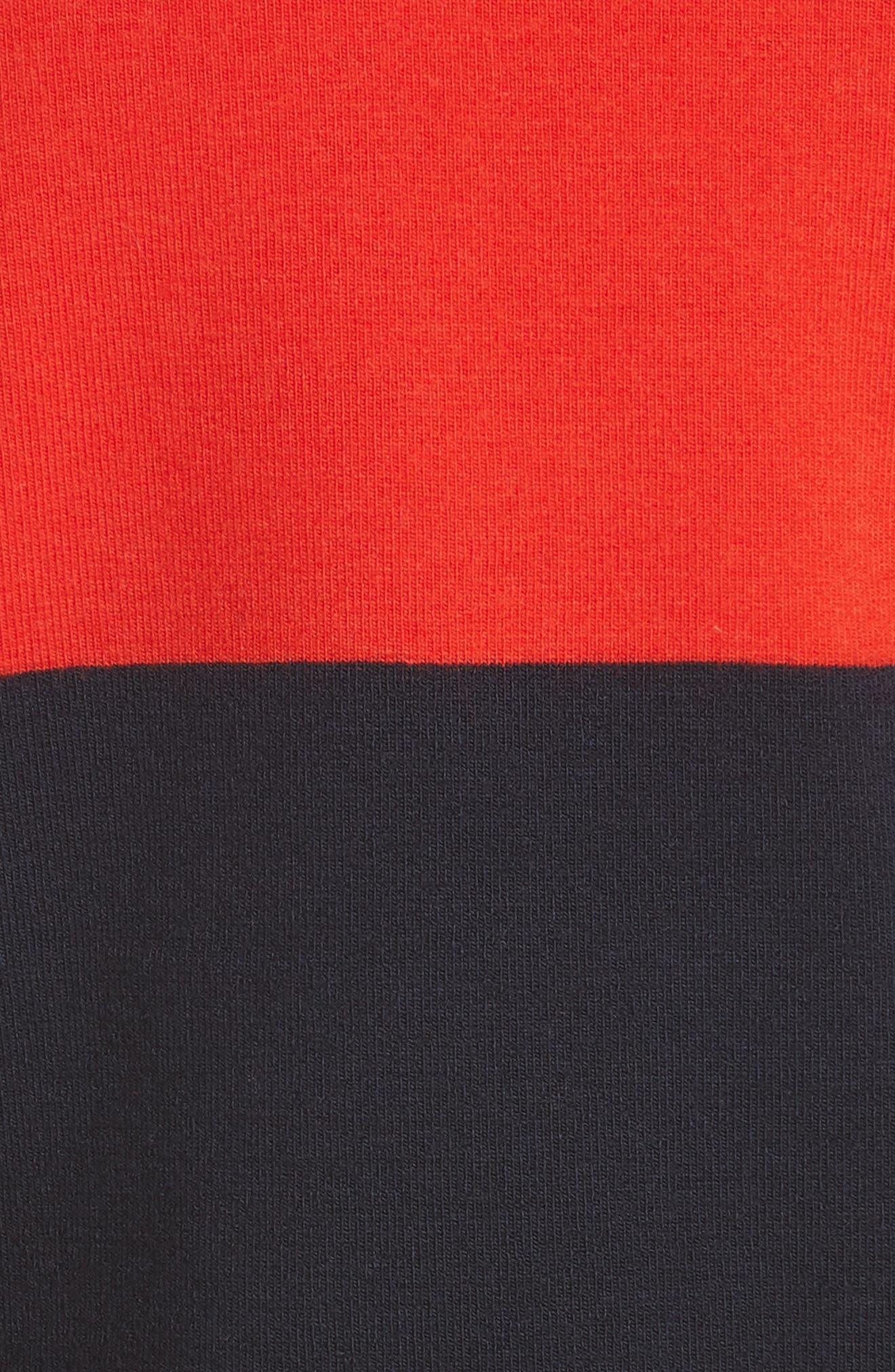 Diane von Furstenberg Star Sweater,                             Alternate thumbnail 5, color,                             Poppy Multi