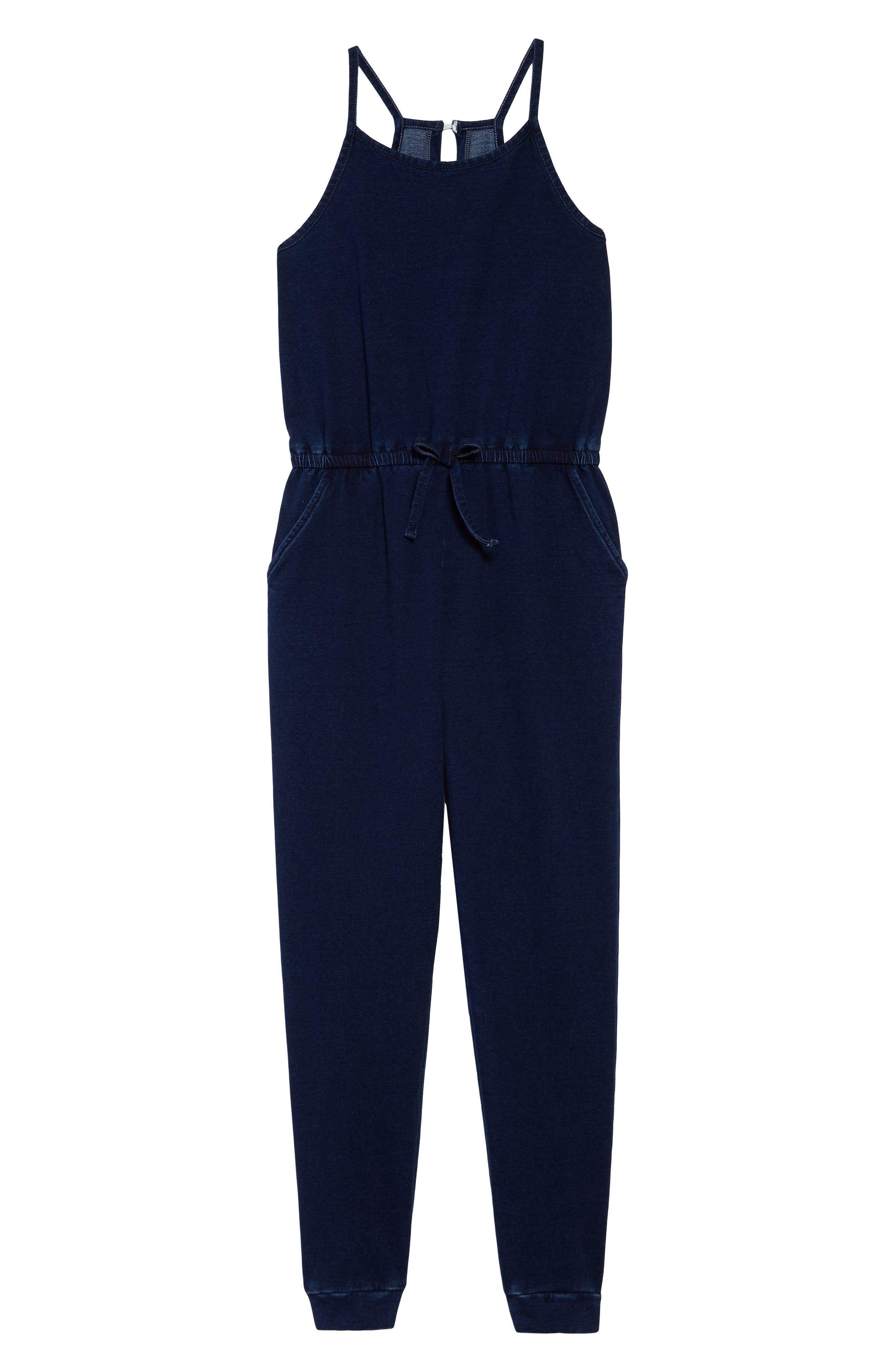 Lorrie Jumpsuit,                         Main,                         color, Indigo