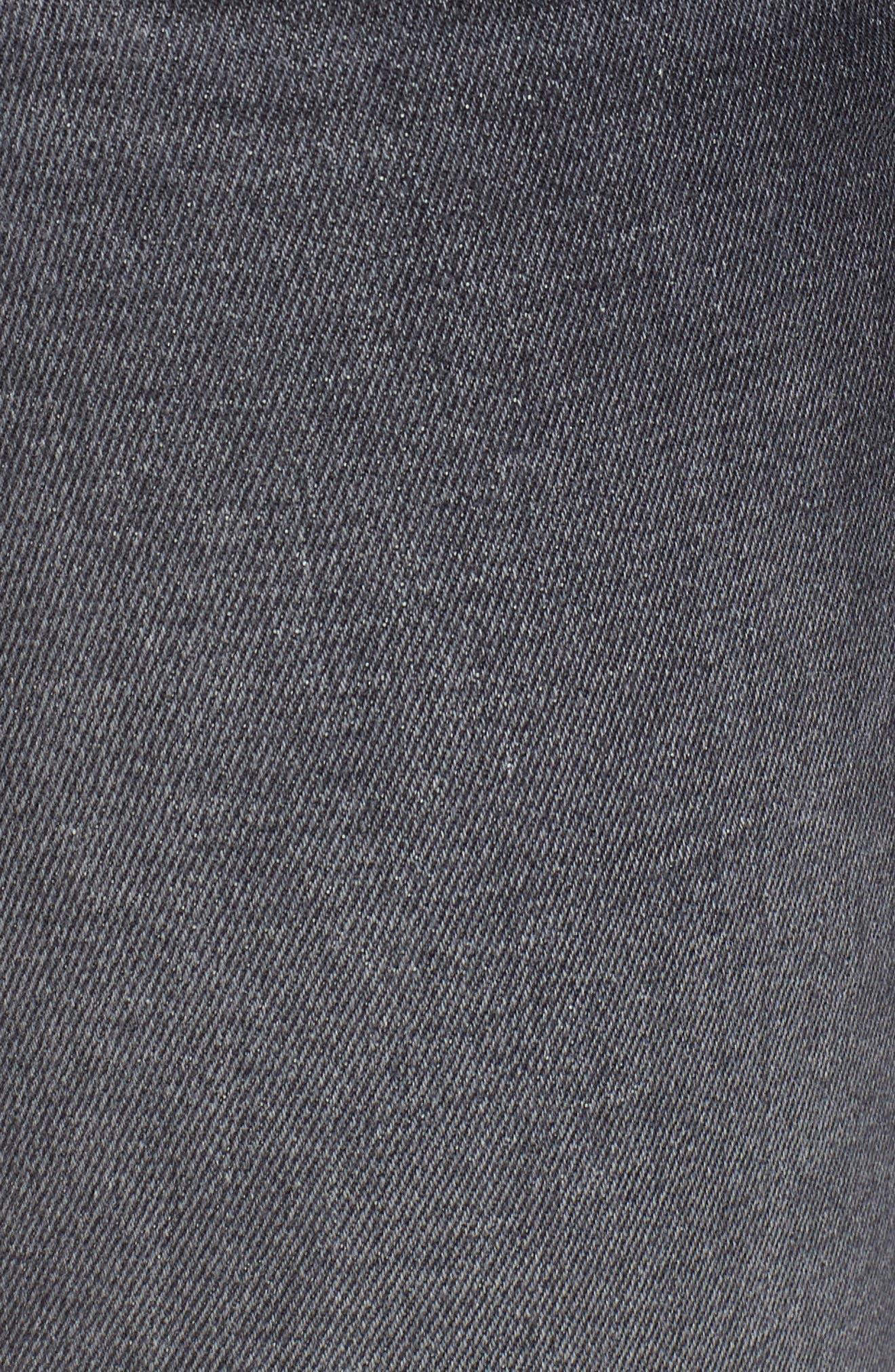 Alternate Image 5  - Hudson Jeans Zoeey High Waist Cutoff Boyfriend Shorts (Malice)
