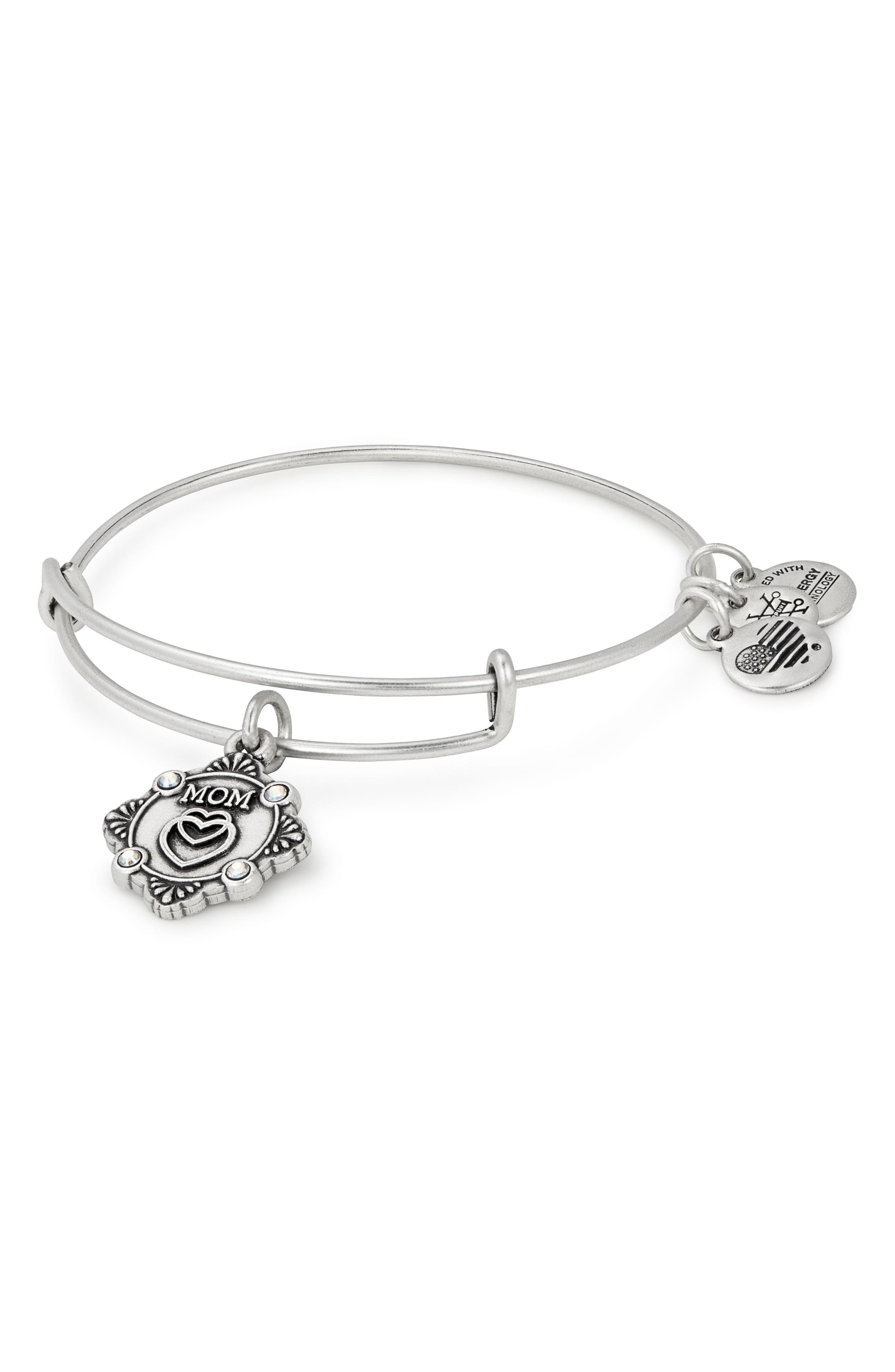Alex and Ani Because I Love You Mom Bracelet