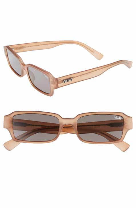 1f6f09dd6ff Quay Australia Strange Love 53mm Rectangle Sunglasses