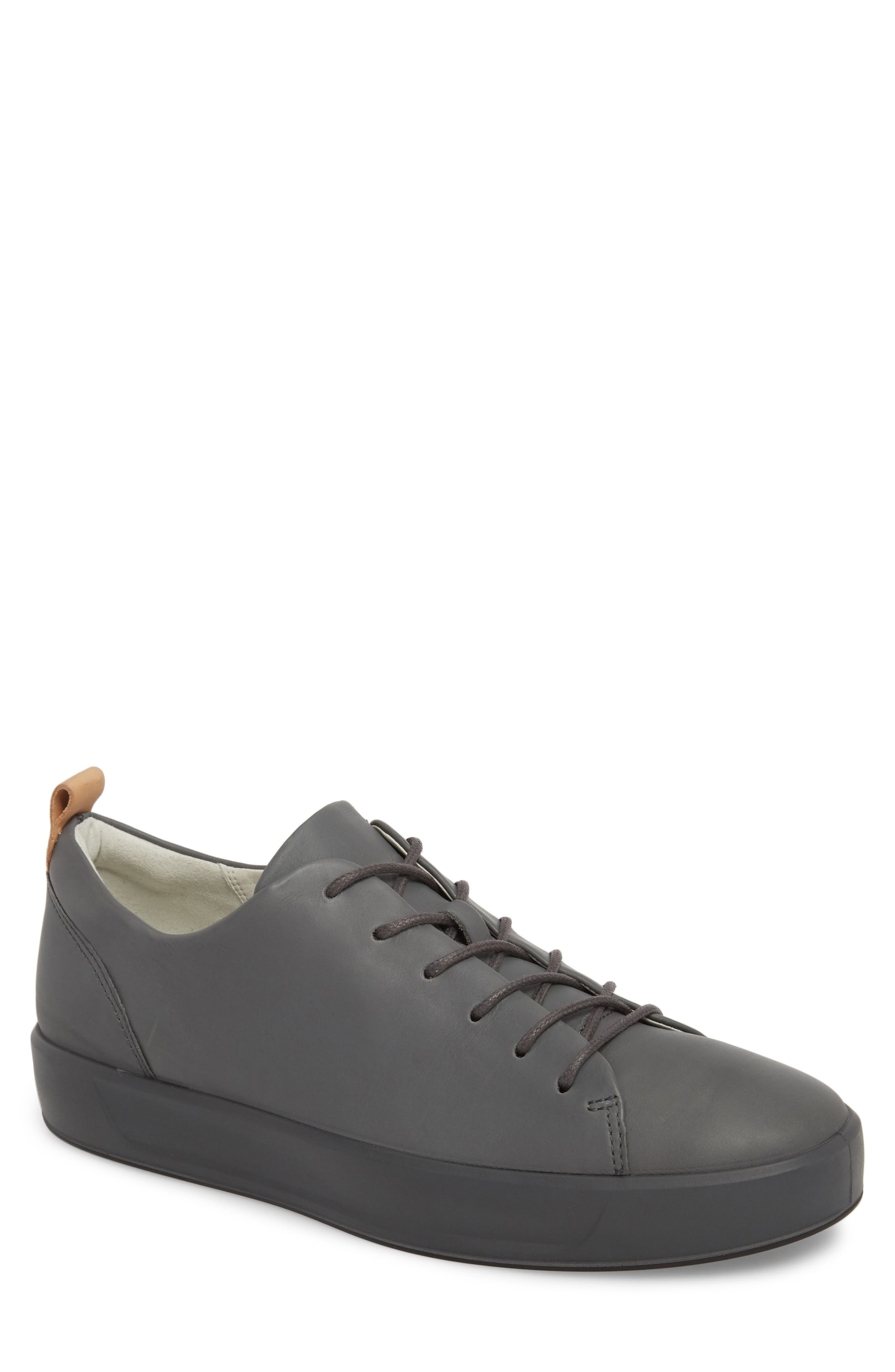 Soft 8 Low Top Sneaker,                             Main thumbnail 1, color,                             Urban Grey Leather