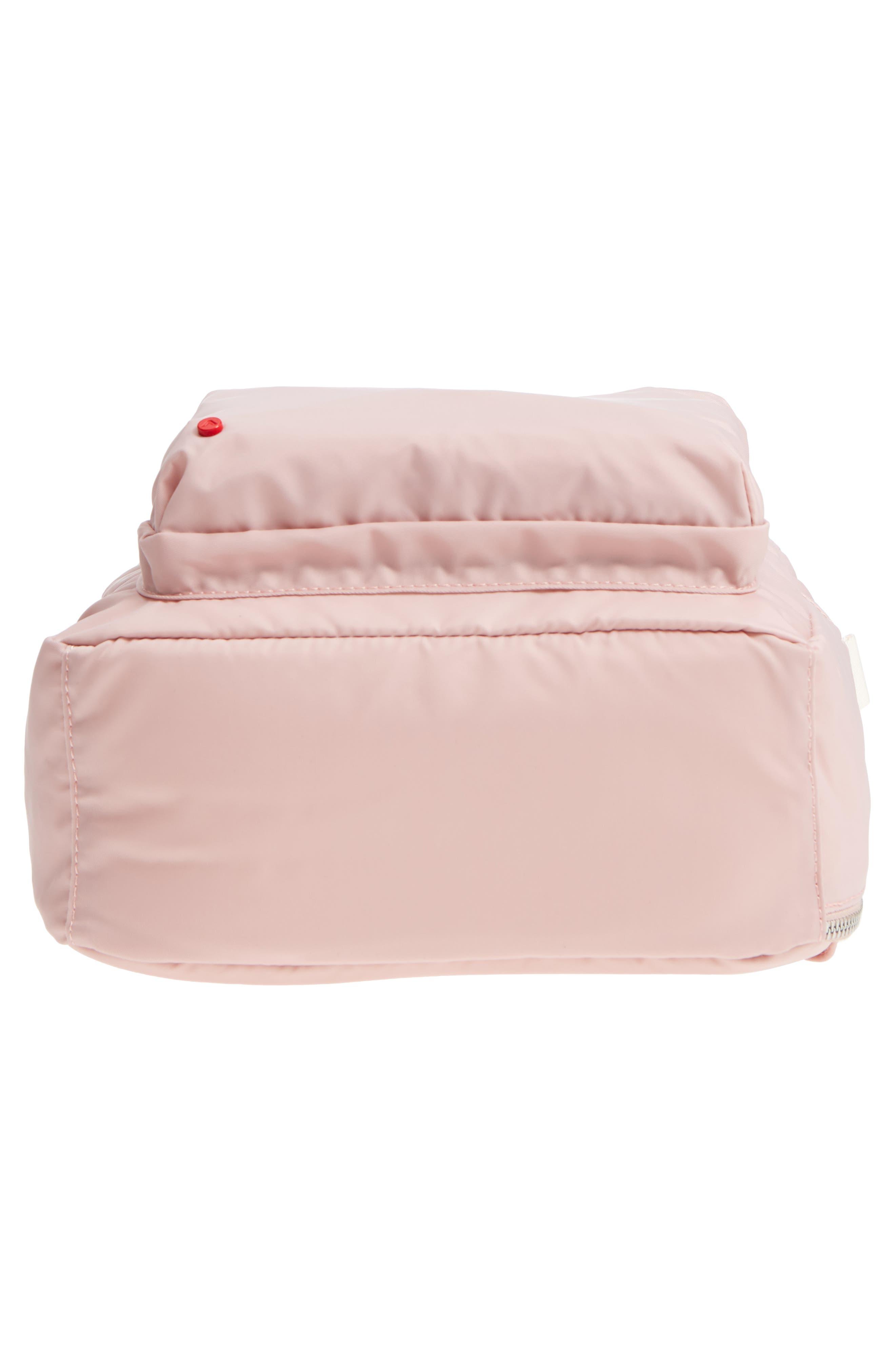The Heights Mini Lorimer Nylon Backpack,                             Alternate thumbnail 6, color,                             Rose