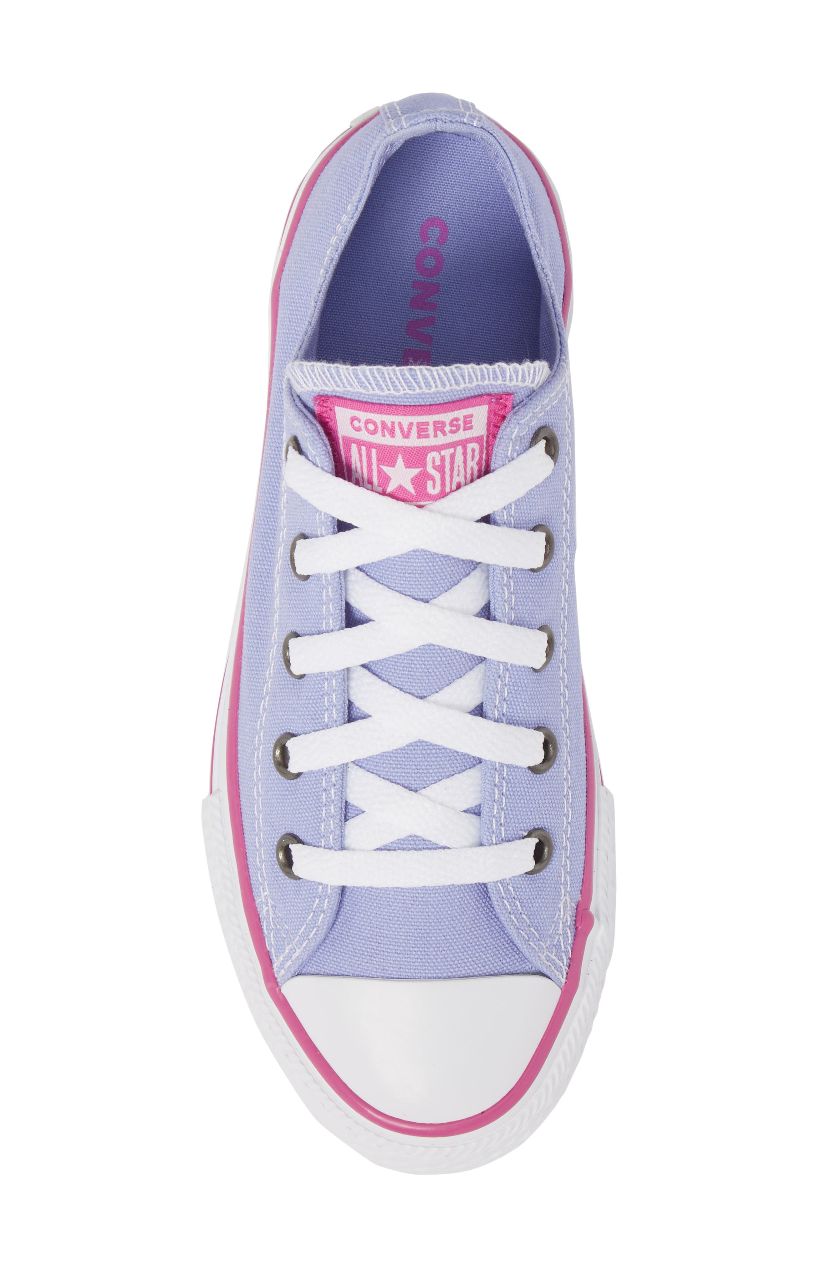 All Star<sup>®</sup> Low Top Sneaker,                             Alternate thumbnail 5, color,                             Twilight Purple