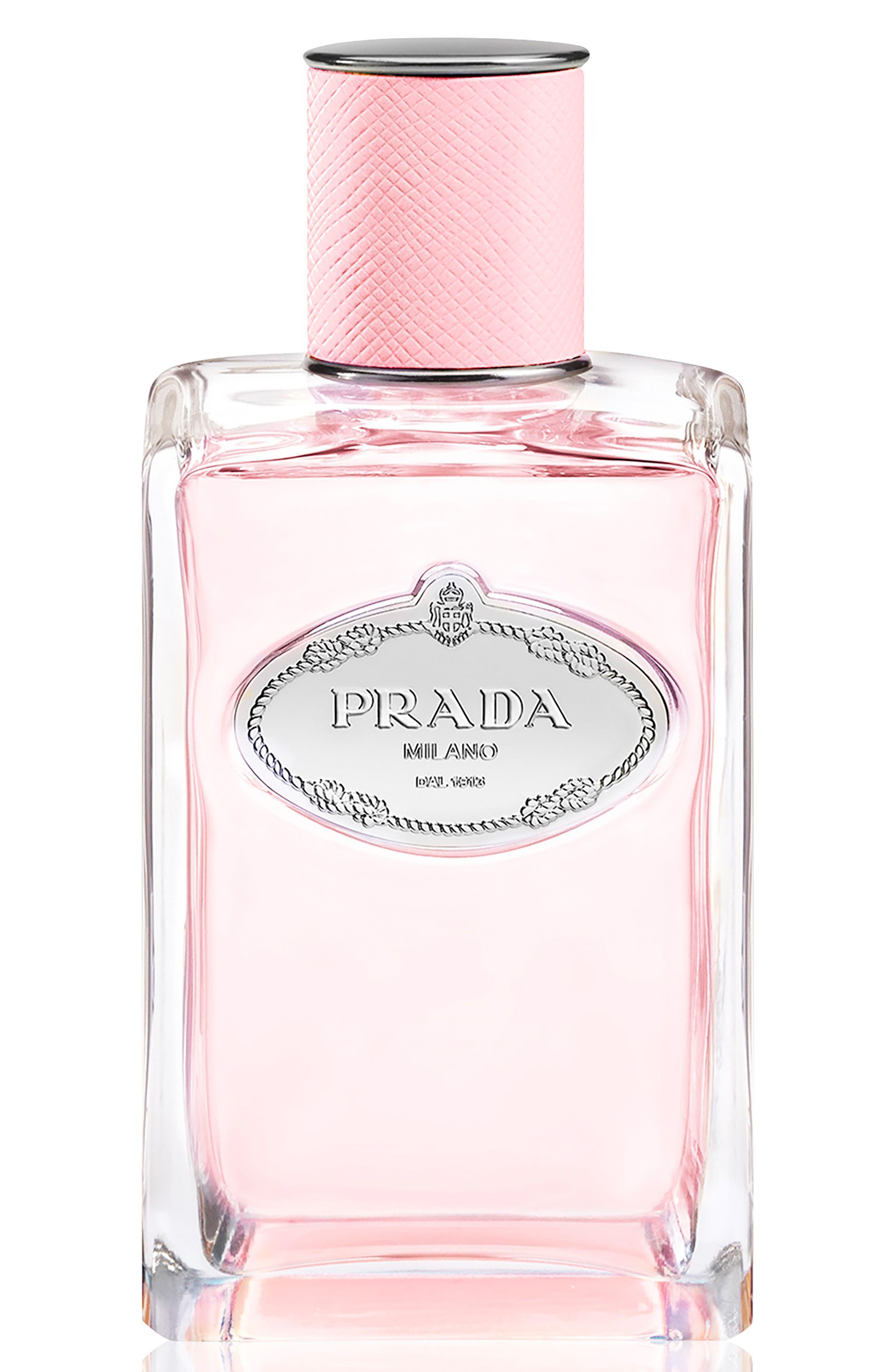 Les Infusions de Prada Rose Eau de Parfum,                             Main thumbnail 1, color,                             No Color