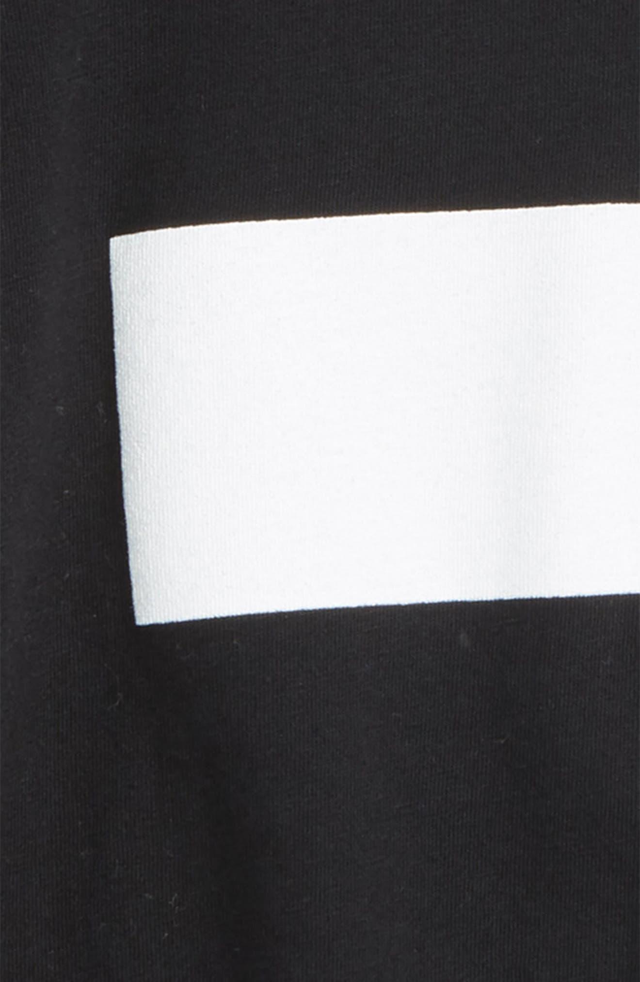 Z Graphic T-Shirt,                             Alternate thumbnail 2, color,                             Black