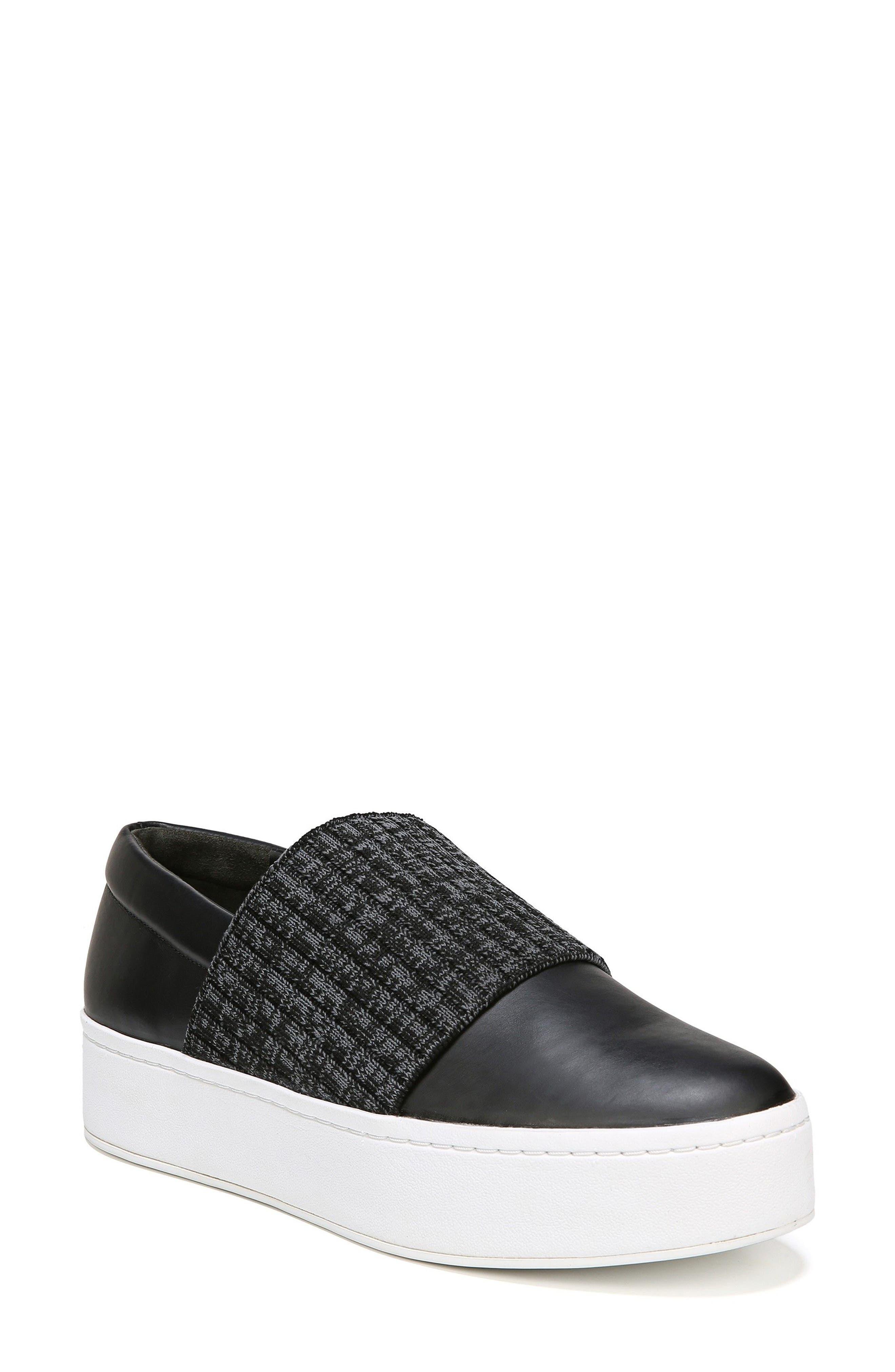 Weadon Slip-On Sneaker,                             Main thumbnail 1, color,                             Black Siviglia Calf