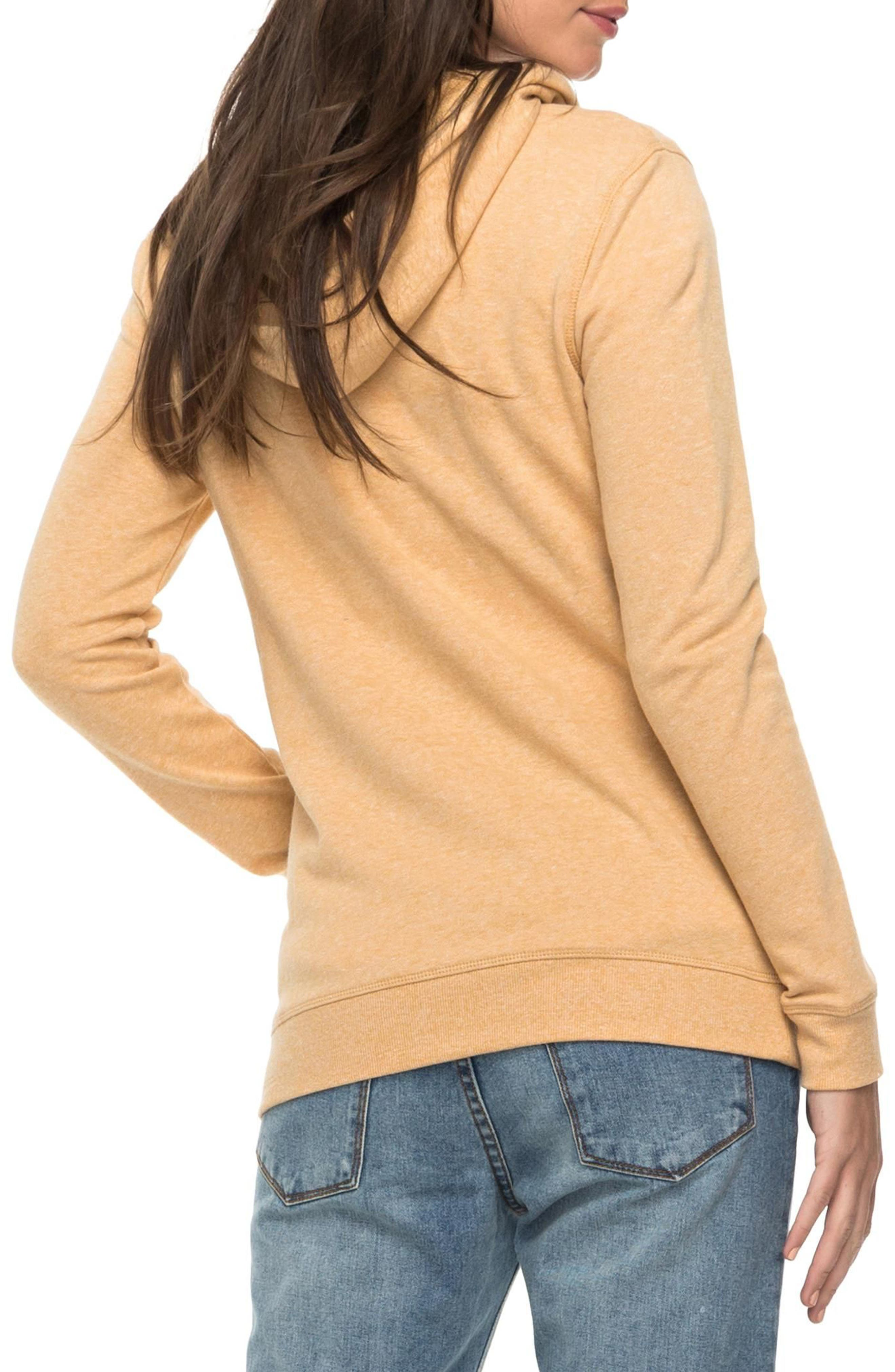 Trippin Hoodie,                             Alternate thumbnail 3, color,                             Buff Yellow Heather