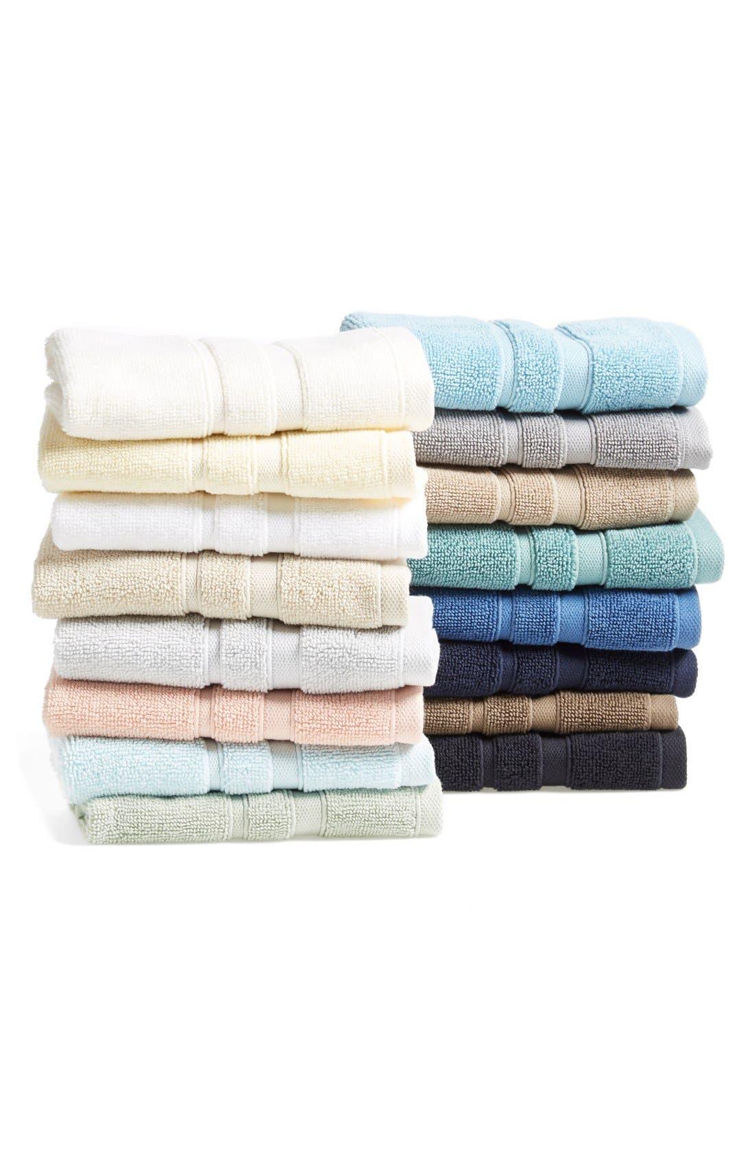 Alternate Image 2  - Waterworks Studio 'Perennial' Combed Turkish Cotton Washcloth (Online Only)