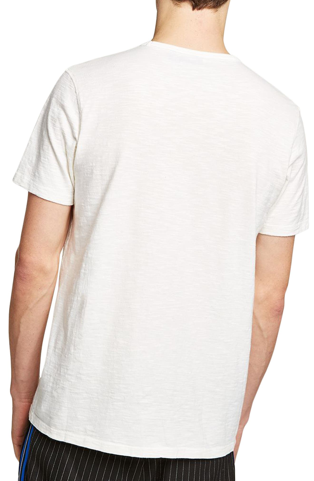 Liberté Graphic T-Shirt,                             Alternate thumbnail 2, color,                             White Multi