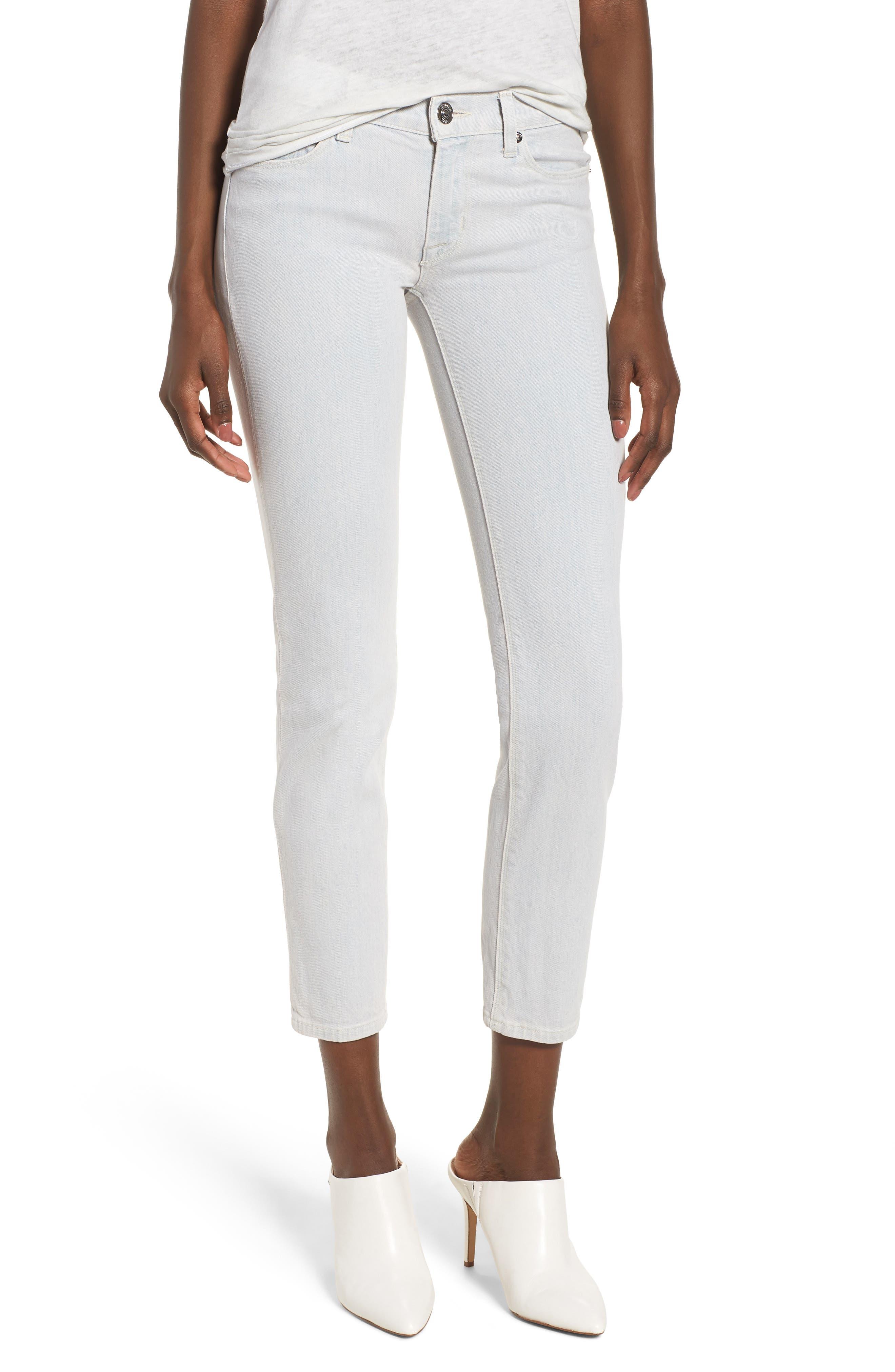Hudson Jeans Tally Crop Skinny Jeans