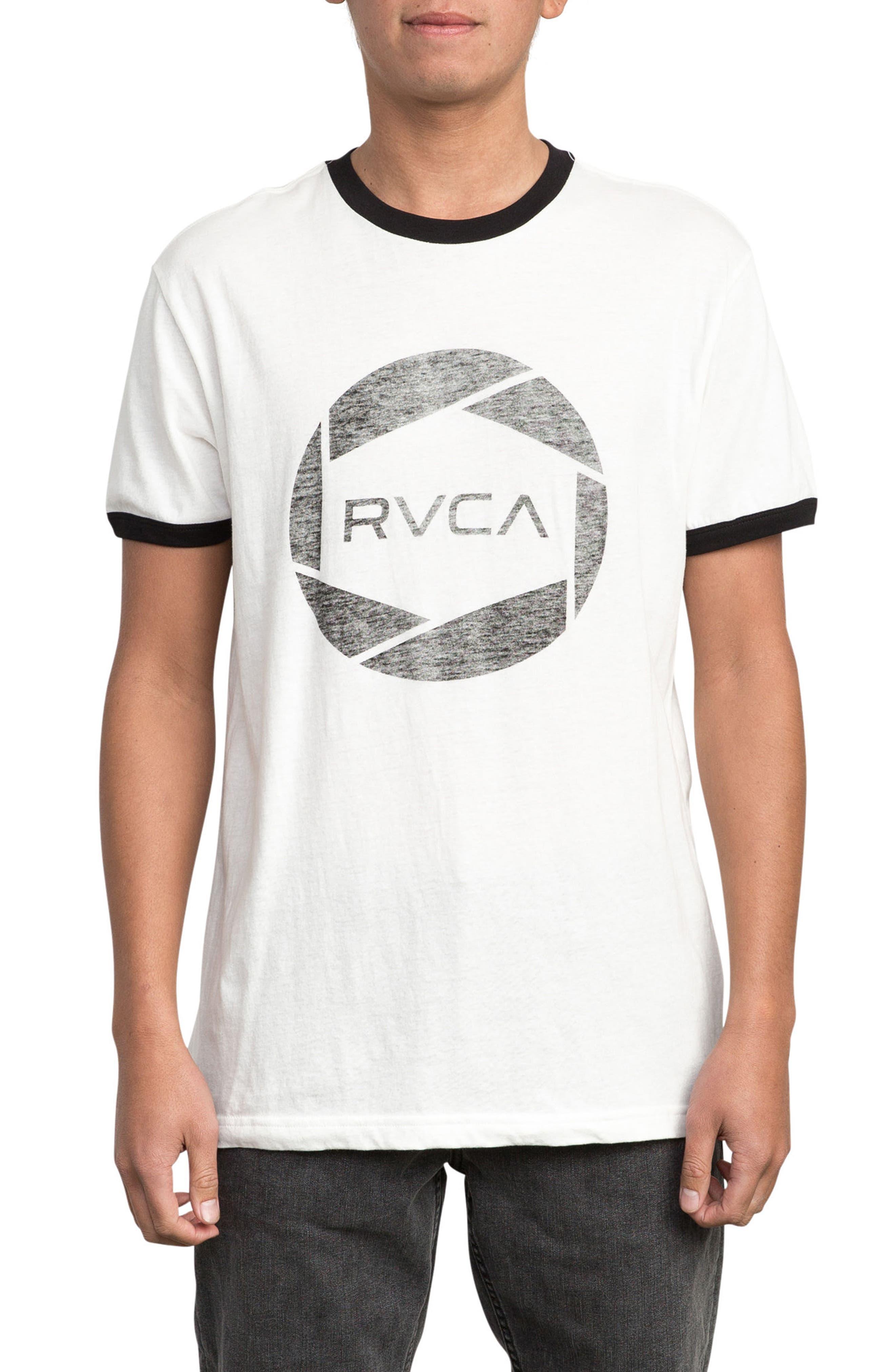 RVCA Big Network Ringer T-Shirt
