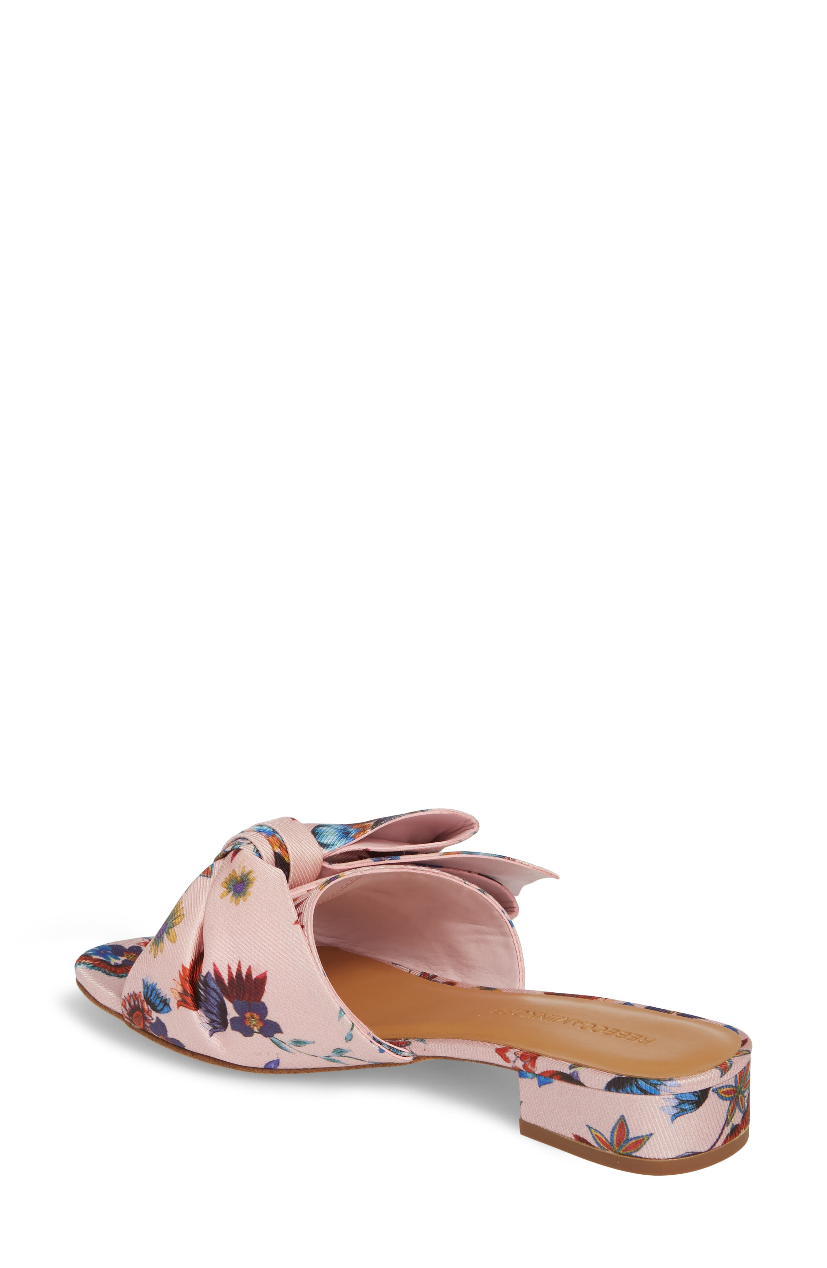 Calista Slide Sandal,                             Alternate thumbnail 2, color,                             Millennial Pink Multi Fabric