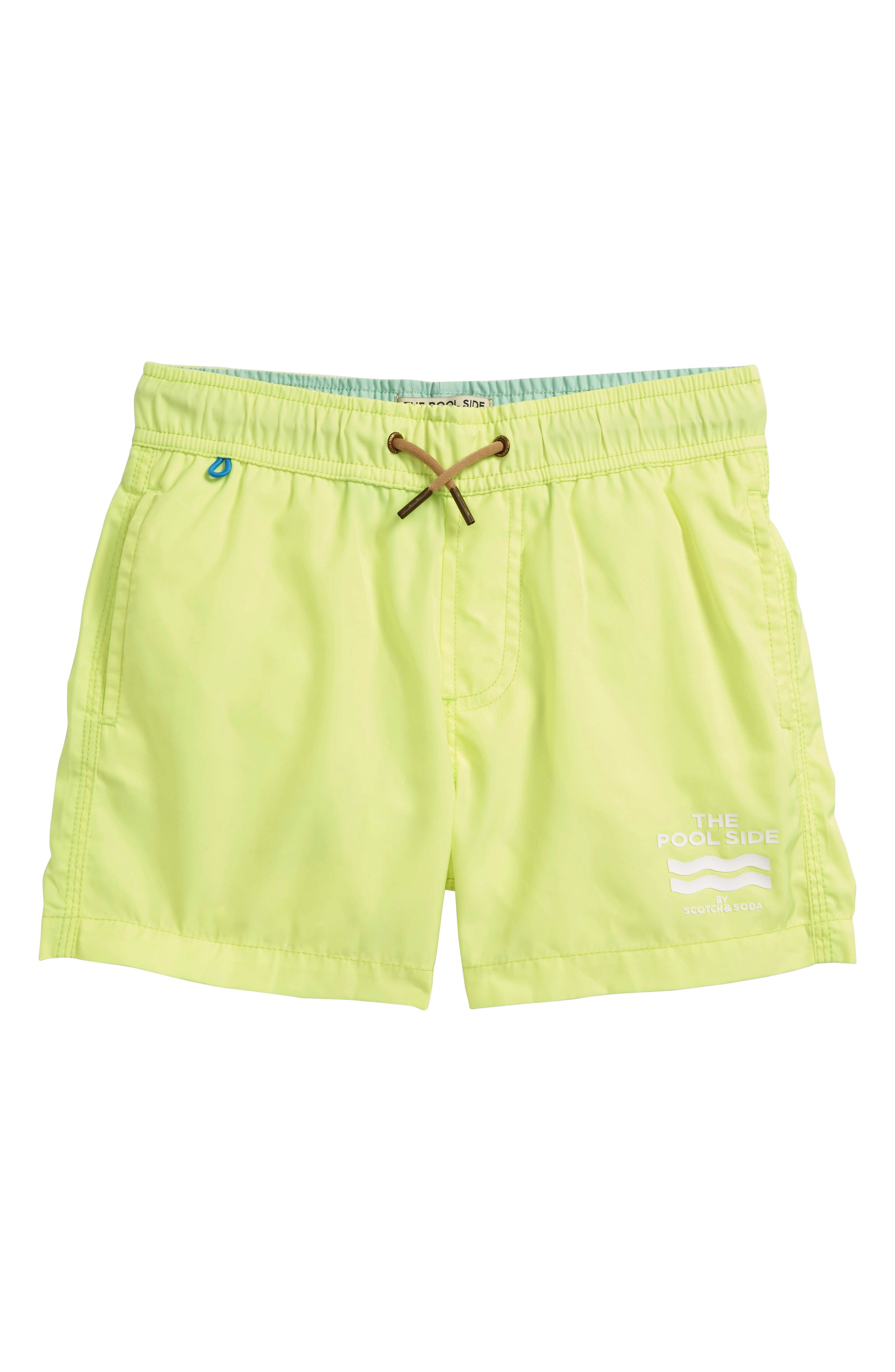 Swim Trunks,                             Main thumbnail 1, color,                             Citrine