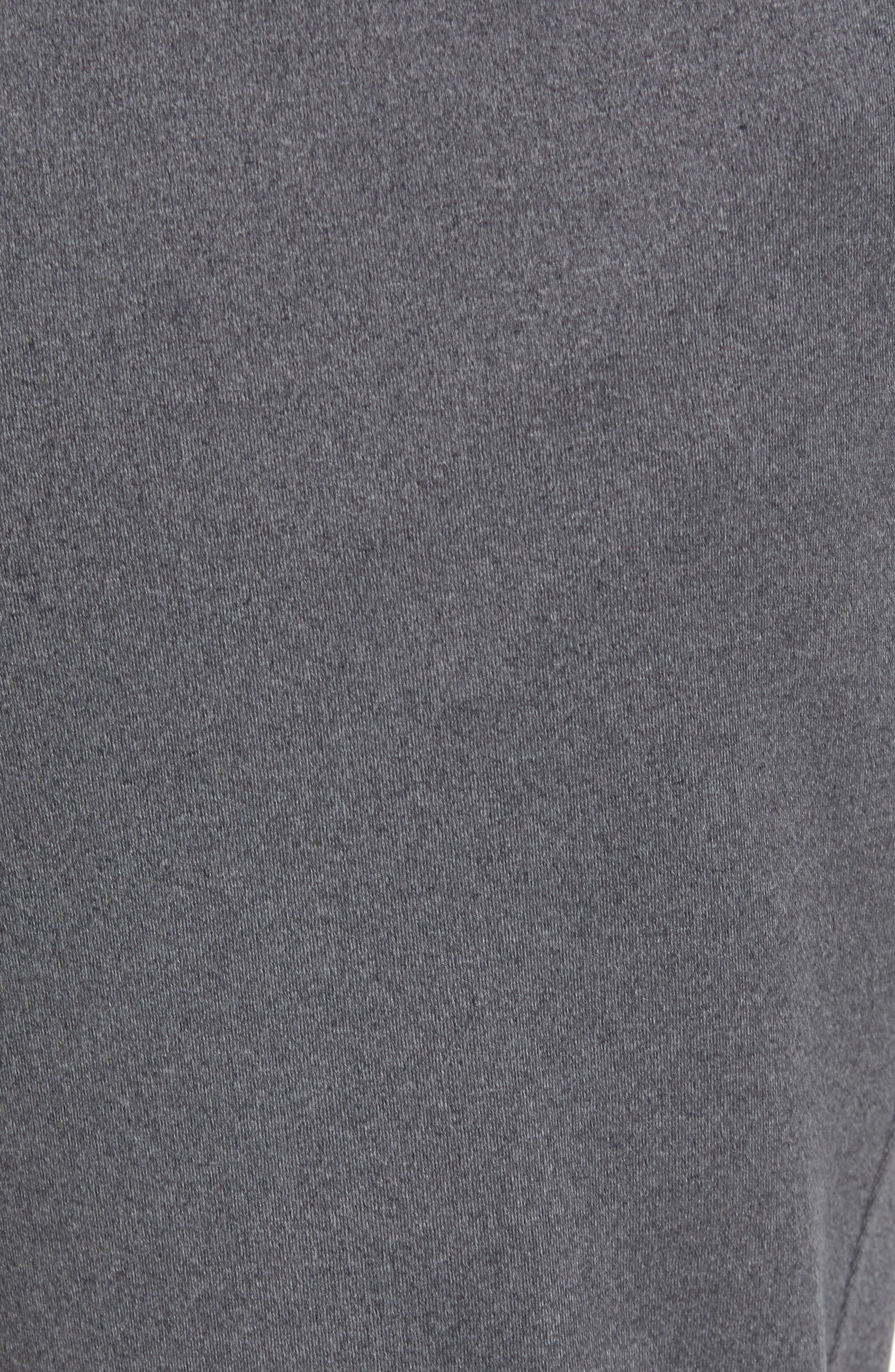 Active Crop Jogger Pants,                             Alternate thumbnail 6, color,                             Grey Obsidian Melange