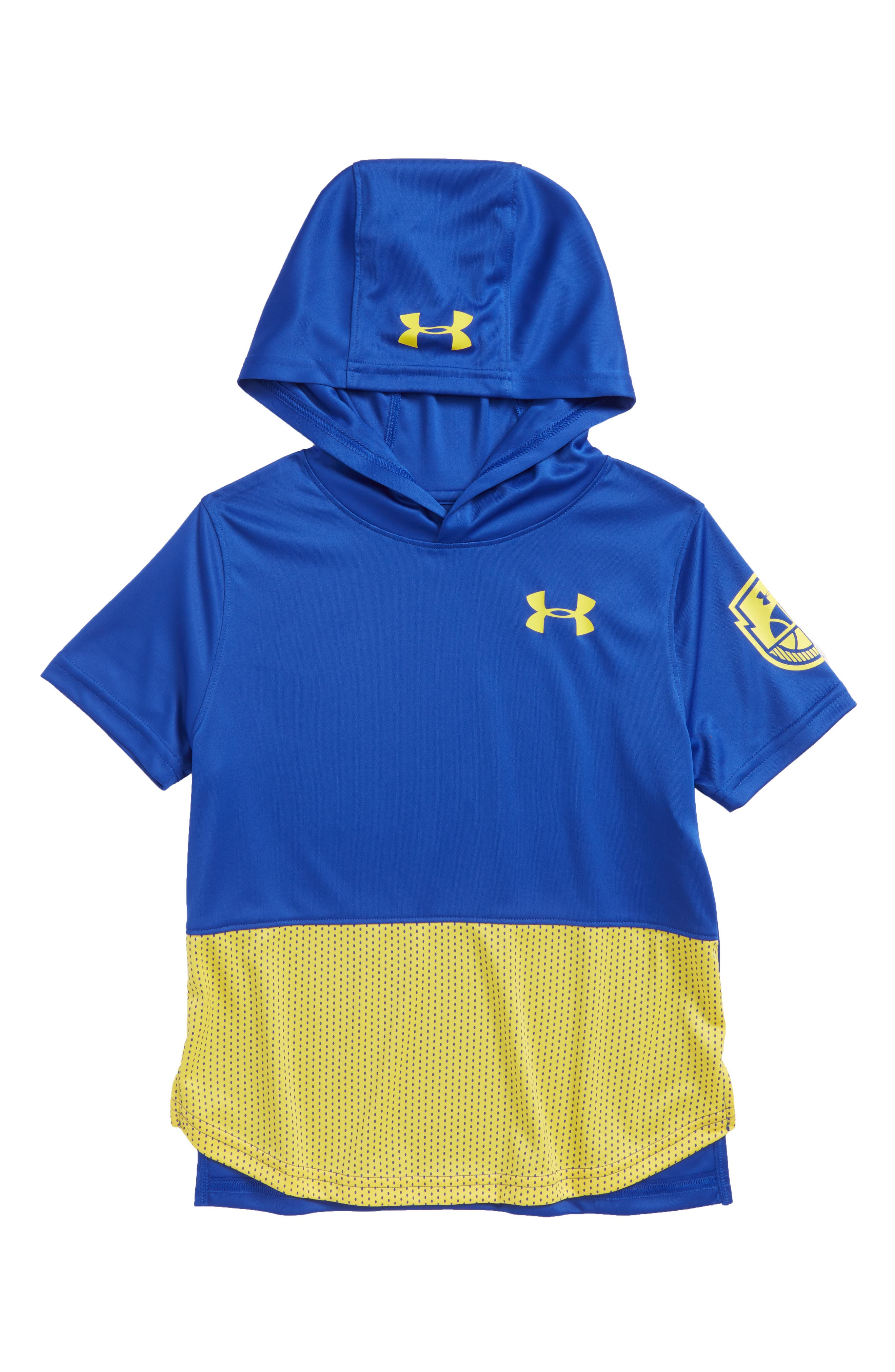 Under Armour Baseline HeatGear® Hooded T-Shirt (Little Boys & Big Boys)
